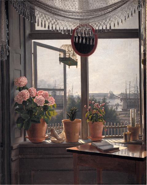 File:Udsigt fra kunstnerens vindue (Martinus Rørbye).jpg