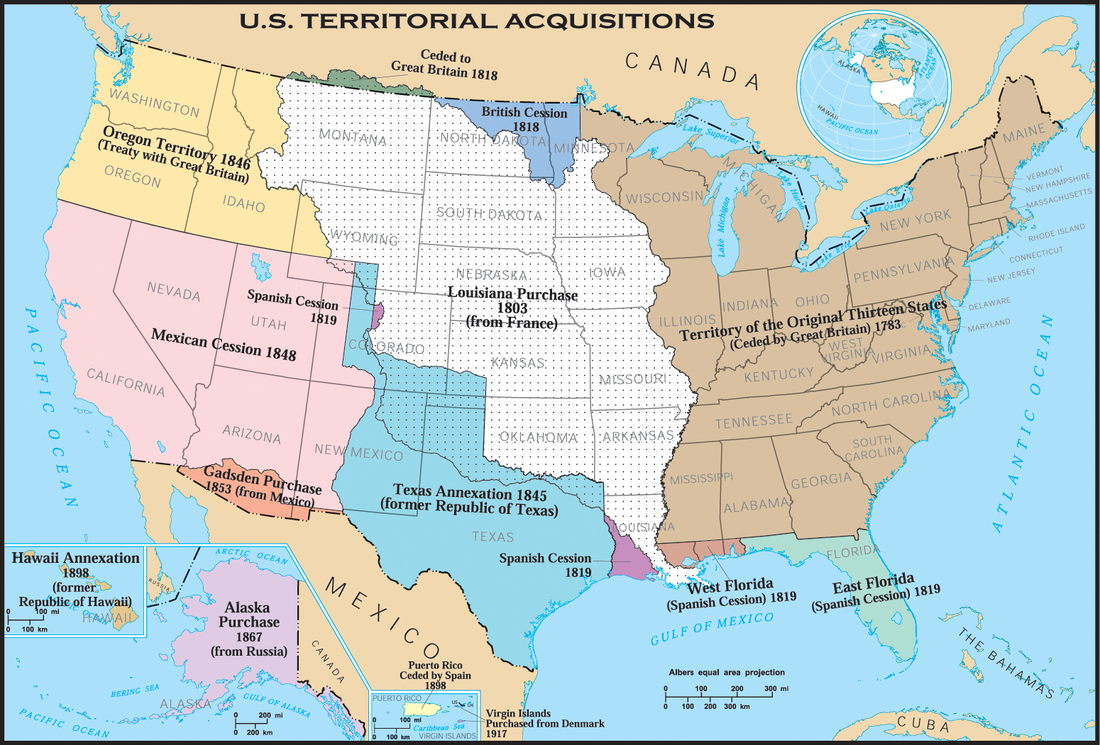 United States Map Territories 1801 | Identify The Location A Map Of ...