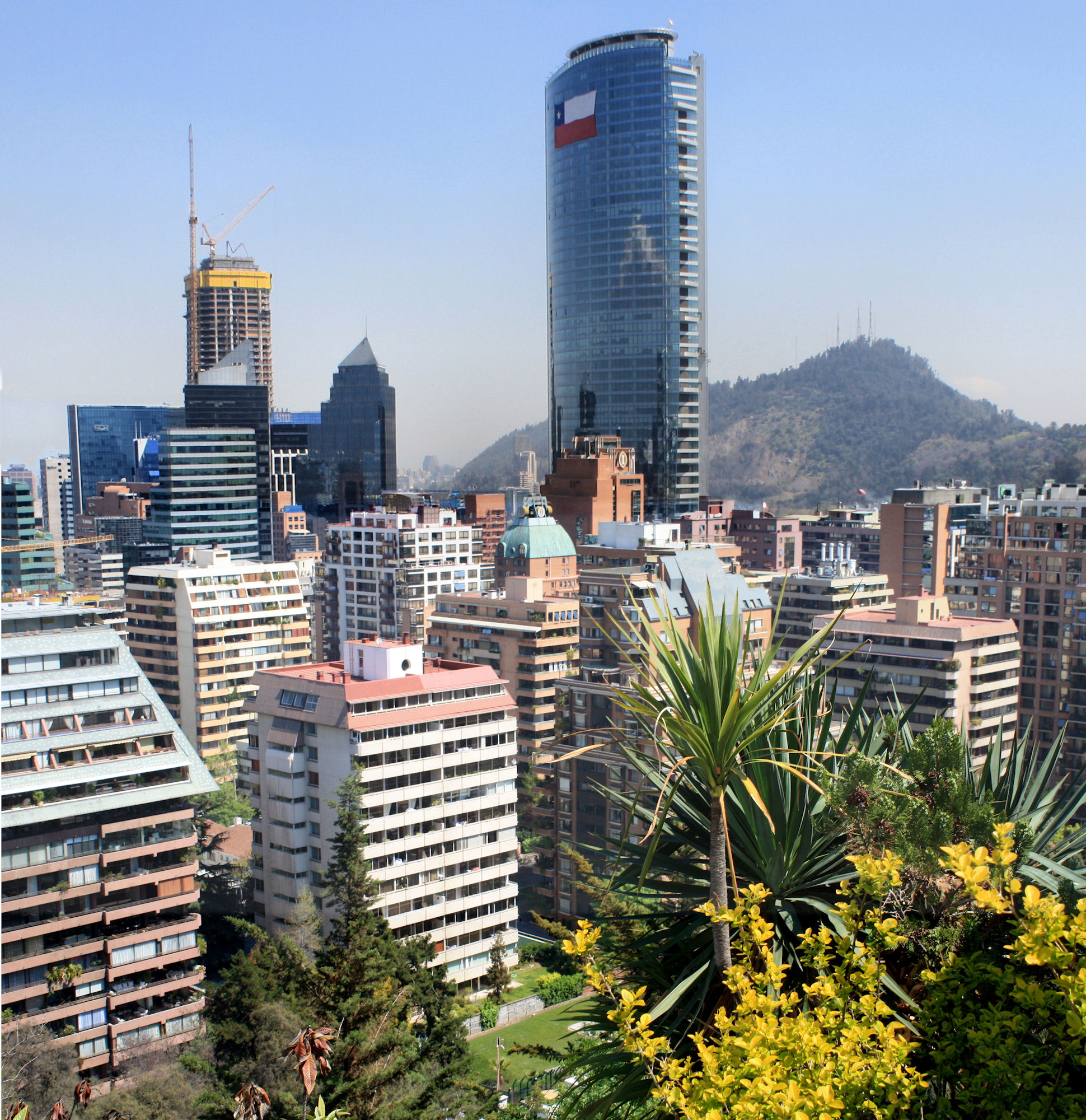 """Fotos de Santiago de Chile: """"la metropolis de Chile"""