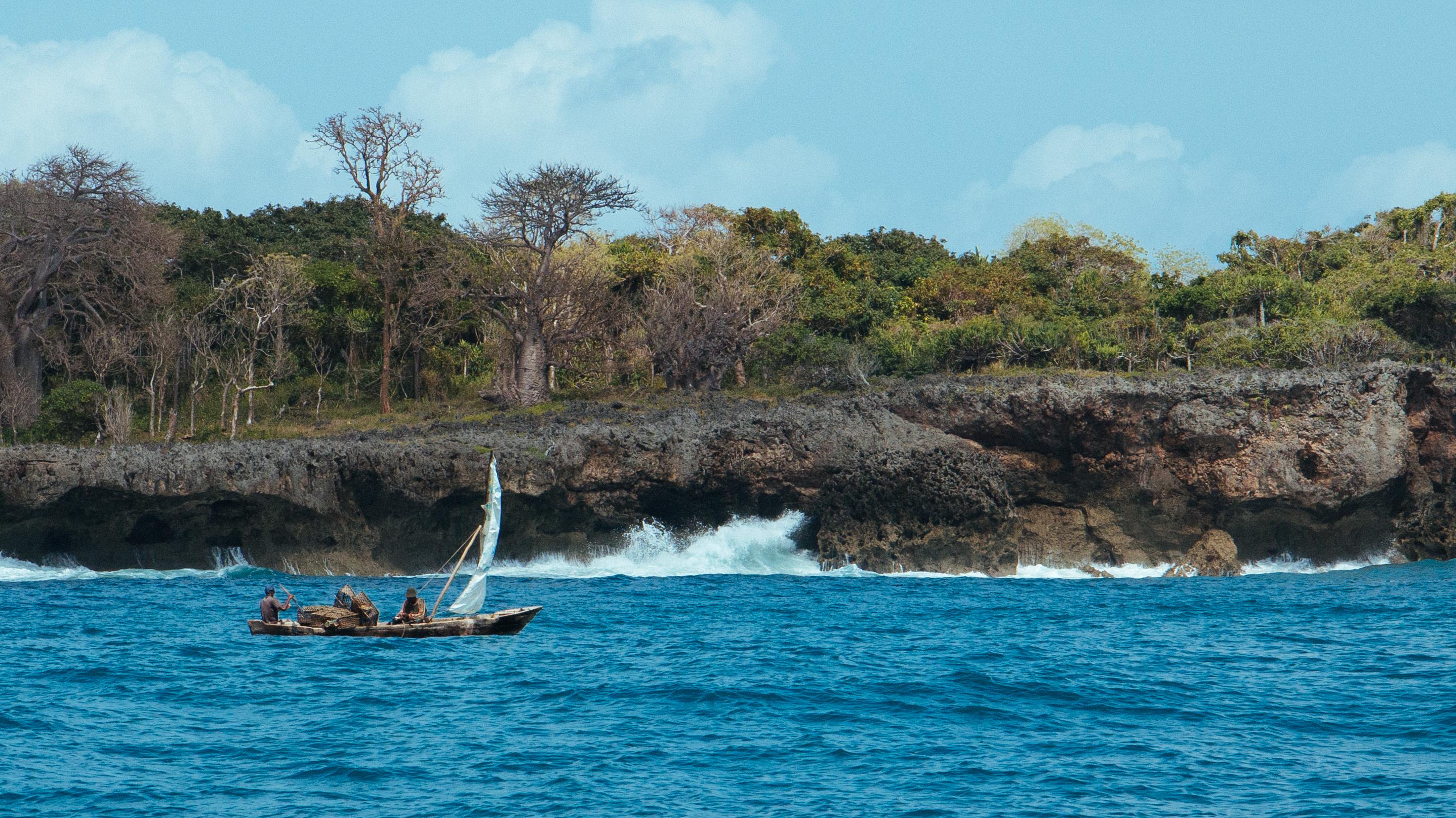Wasini Island Pictures File:wasini Island Fishermen