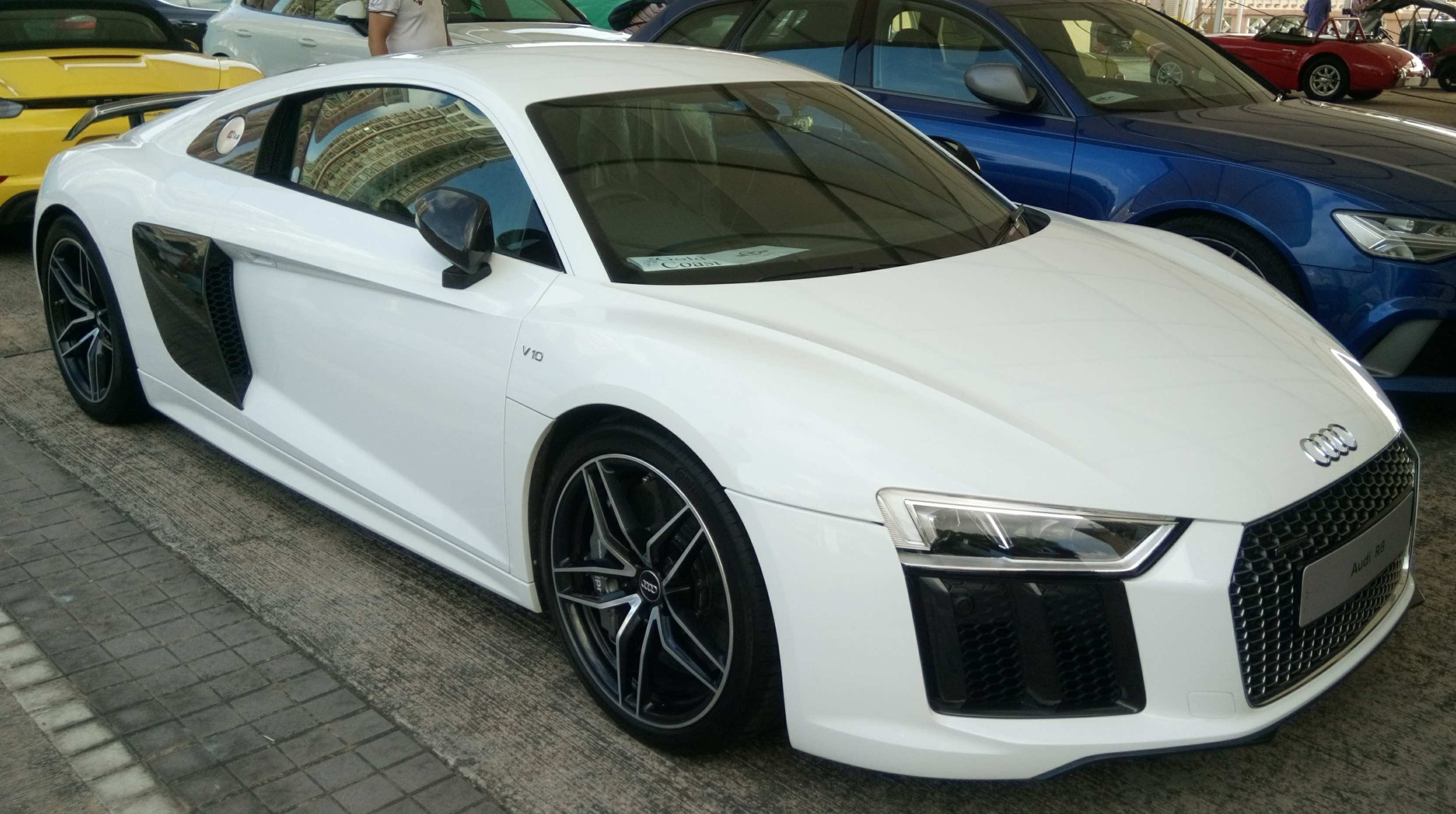 File White Audi R8 2015 Jpg Wikimedia Commons