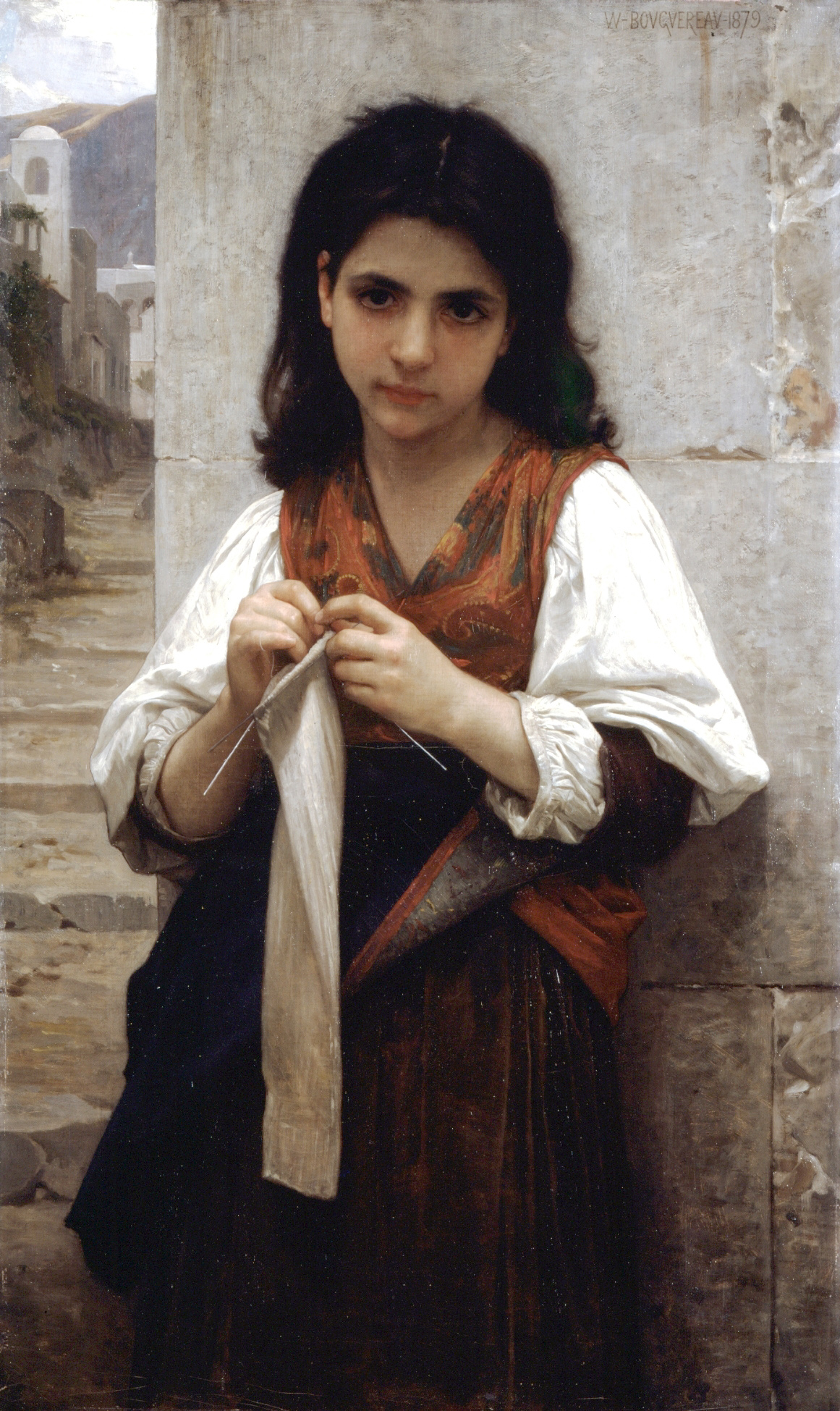 File william adolphe bouguereau 1825 1905 tricoteuse for 1825 2