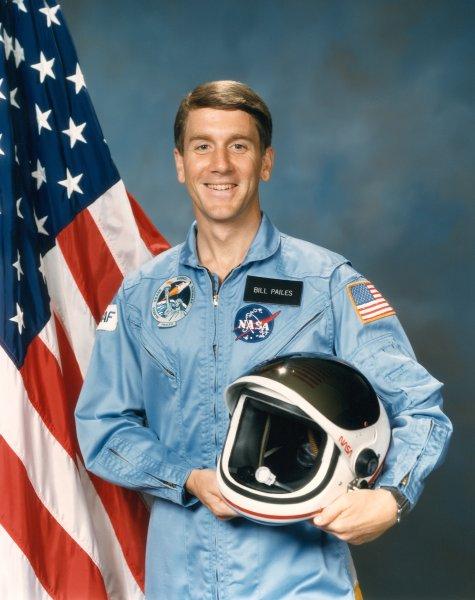 Astronaut William A. Pailes, NASA photo Source: Wikipedia (www.jsc.nasa.gov page unavailable June 2019) WilliamAPailes.jpg