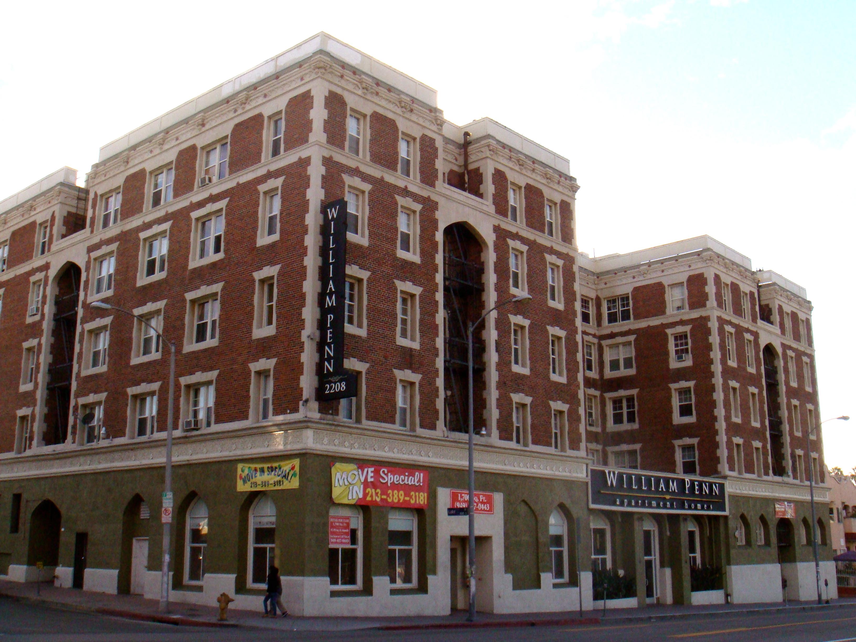 File William Penn Apartments Los Angeles Usa Panoramio Jpg