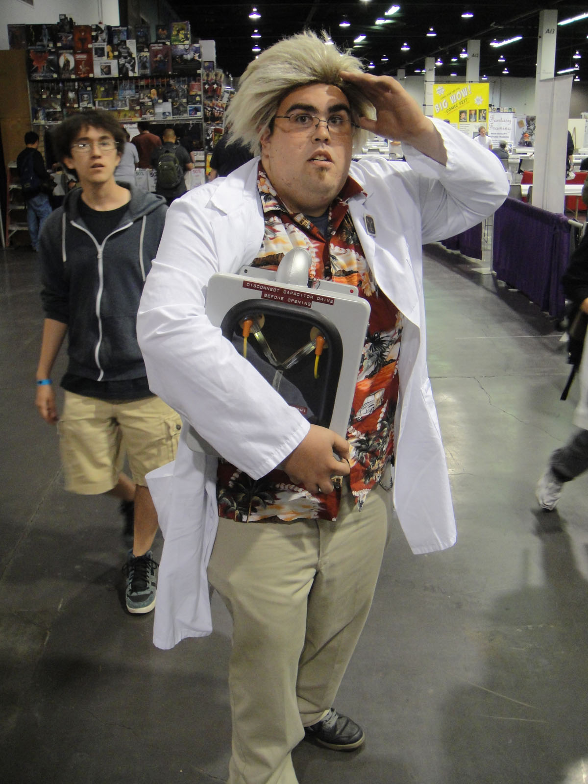 Dr Emmett Brown Back To The Future