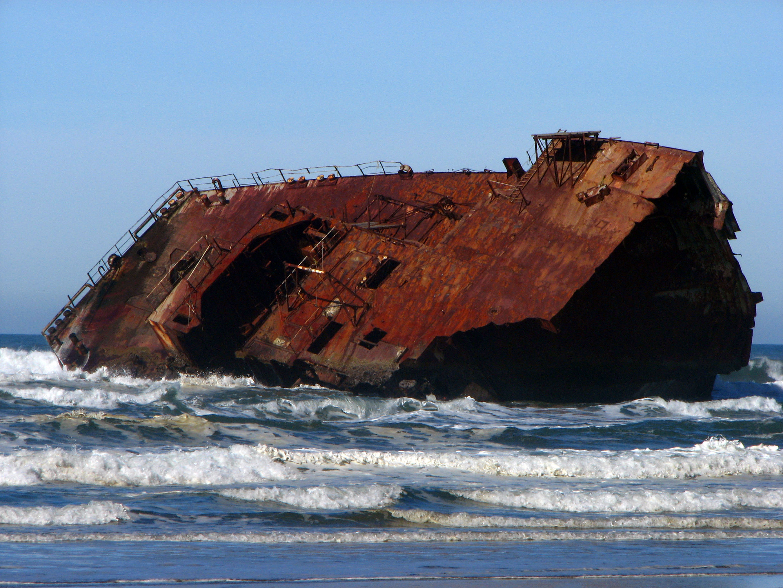 Shipwreck Coos Bay Oregon