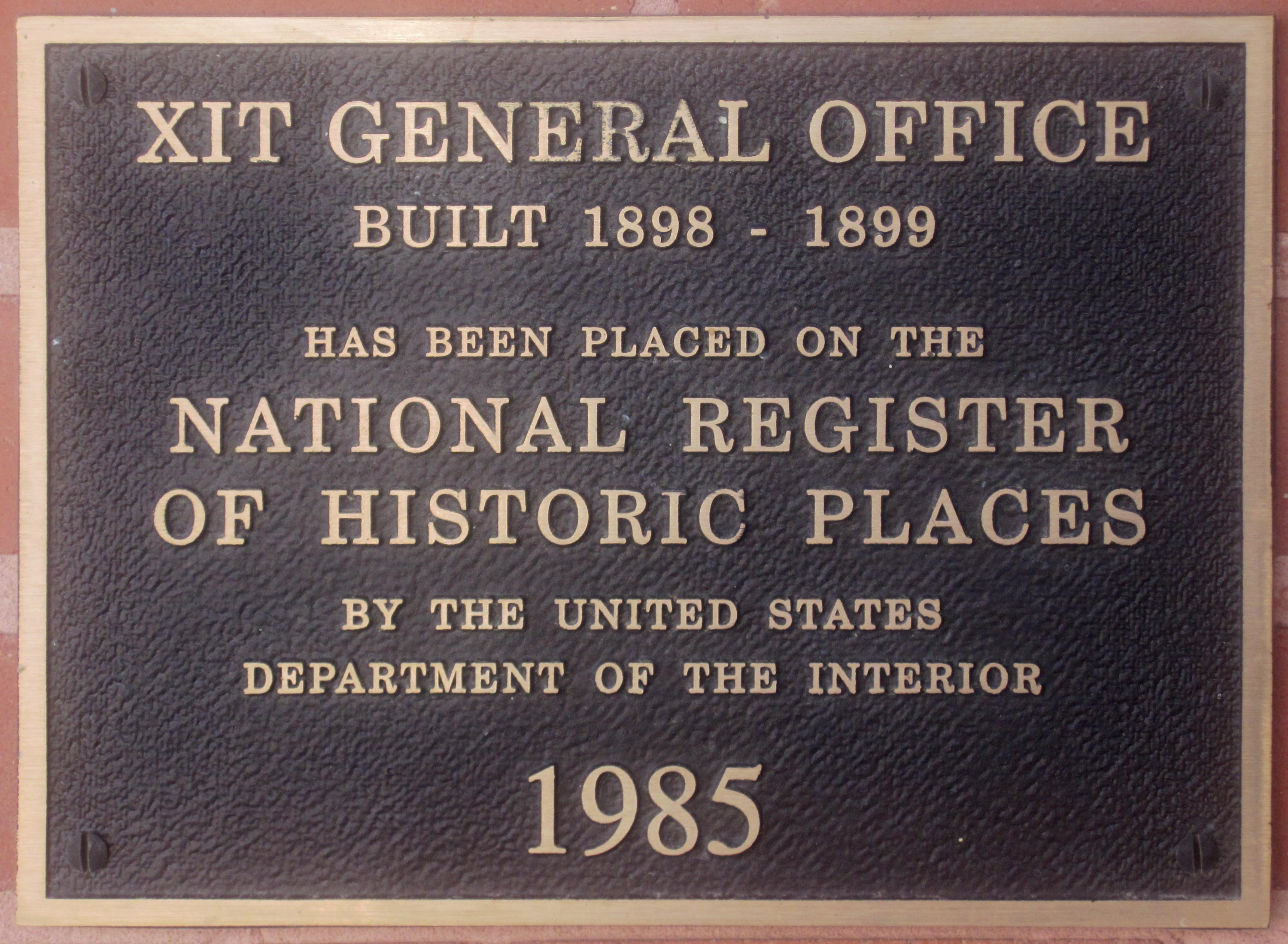 File:XIT Ranch Office Plaque IMG 4934.JPG