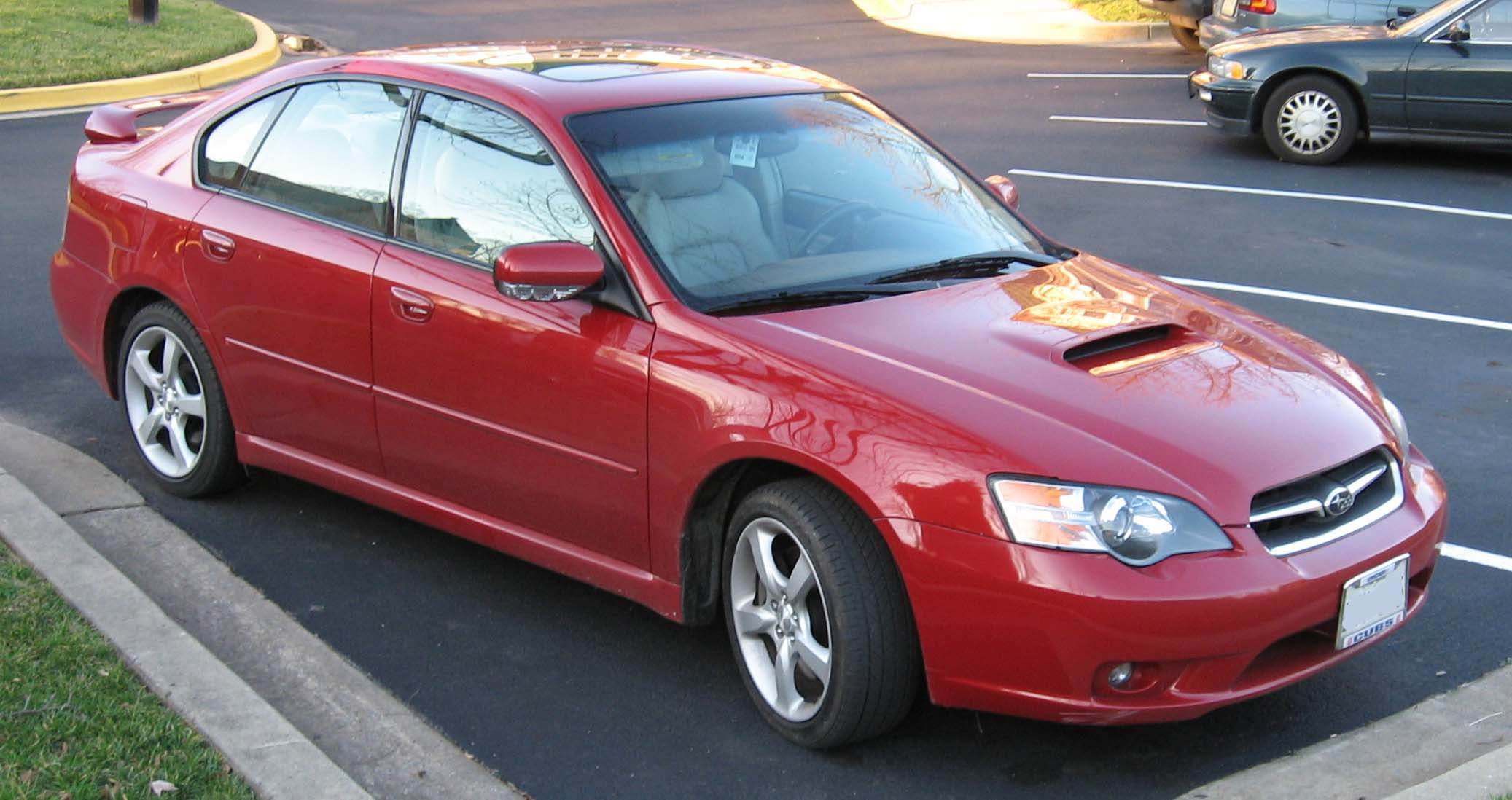Performance 2008 Subaru Legacy GT First Look