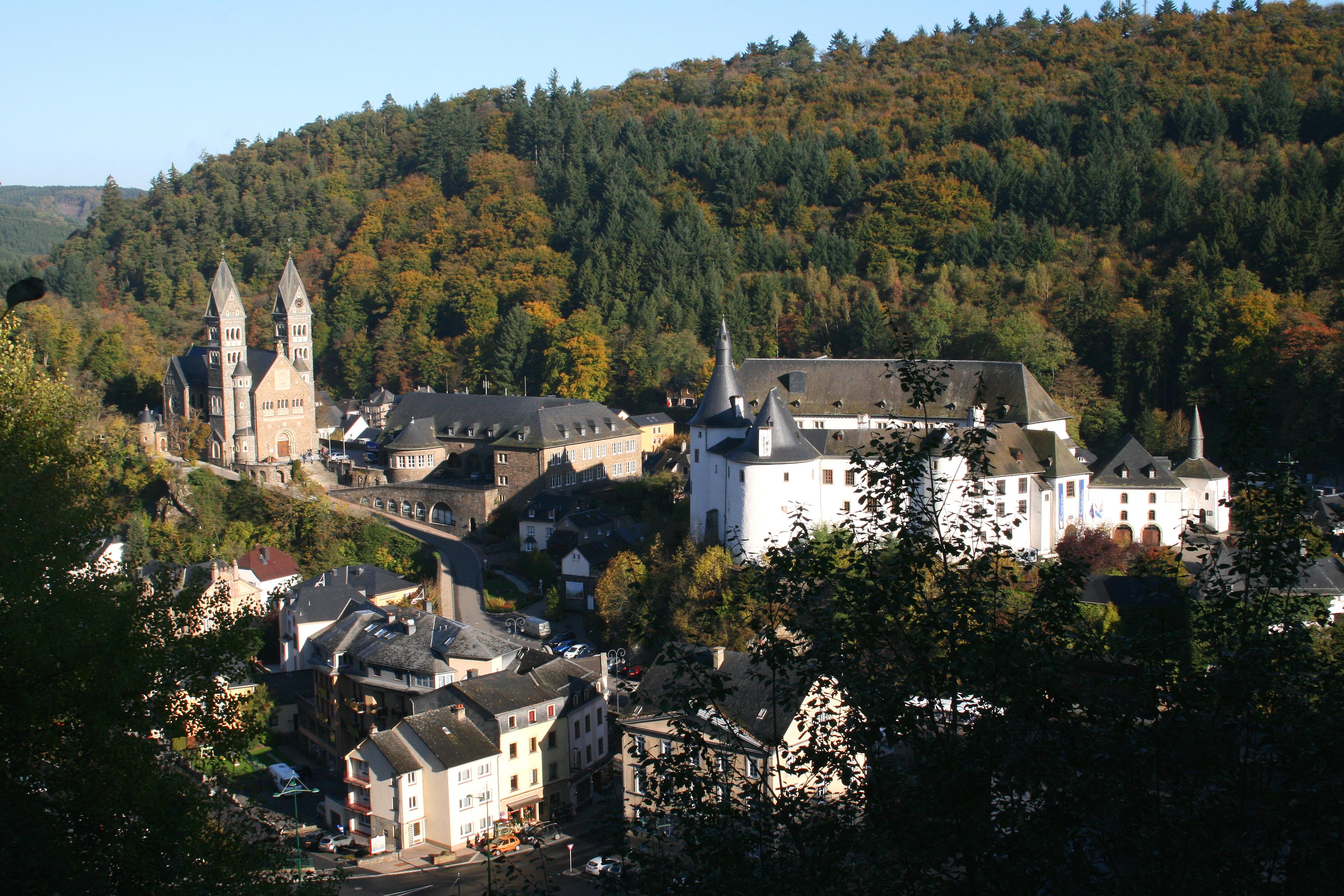 Clervaux Luxembourg  city images : comuna de Clervaux, formada após a fusão das comunas de Clervaux ...