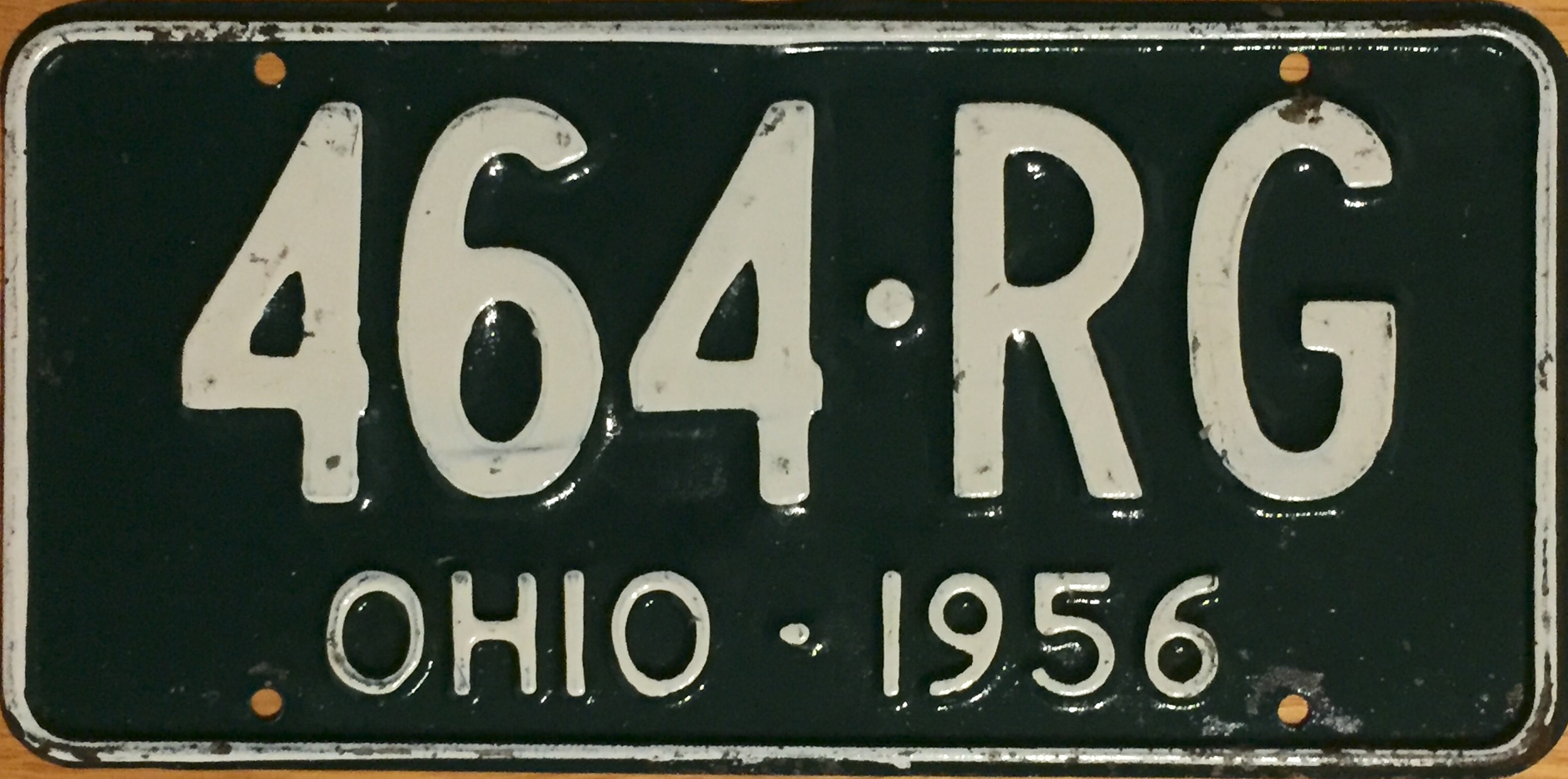 File:1956 Ohio license plate.jpg - Wikimedia Commons