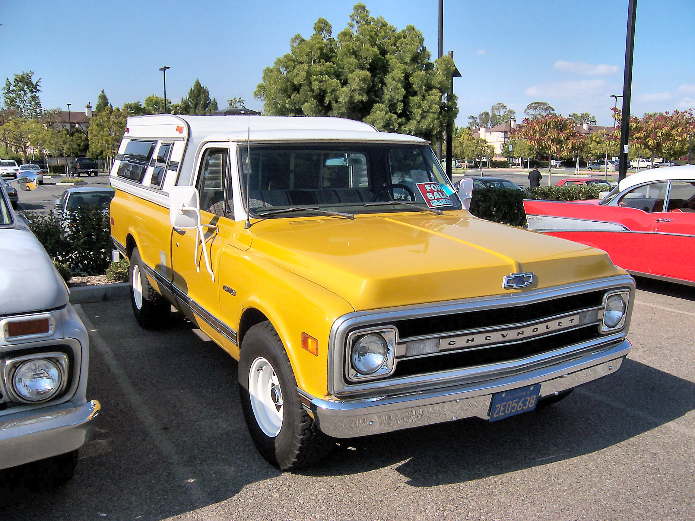 Curbside Classic 1967 Chevrolet C20 Pickup The Truth About Cars 1968 Chevy Truck For Sale Clean Eggcrate Grille Of 71 72 Is Hard To Beat Its Good Looks Maybe Best Looking Ever 1973 Model That Replaced Them