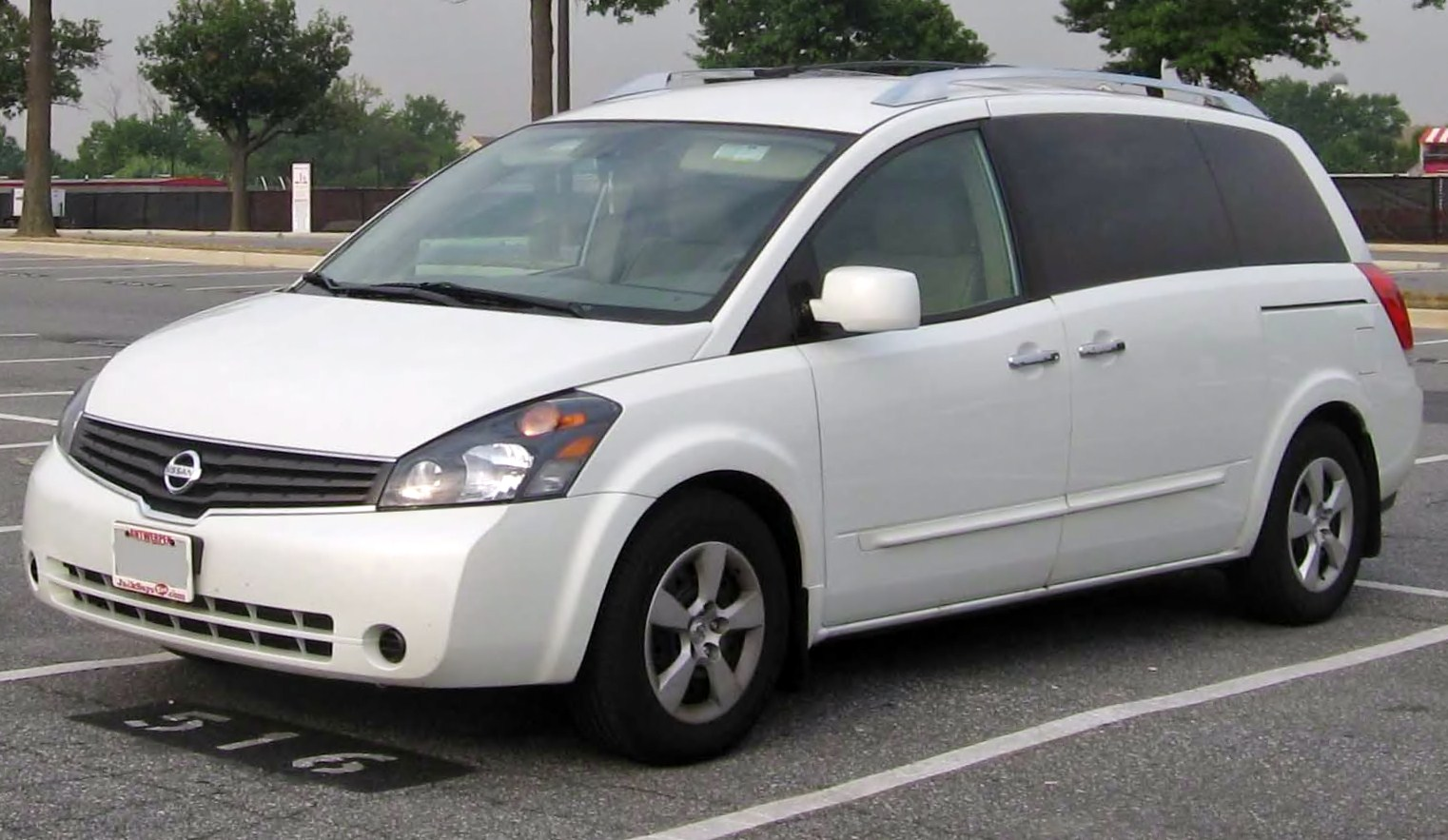 File 2007 Nissan Quest Jpg Wikimedia Commons