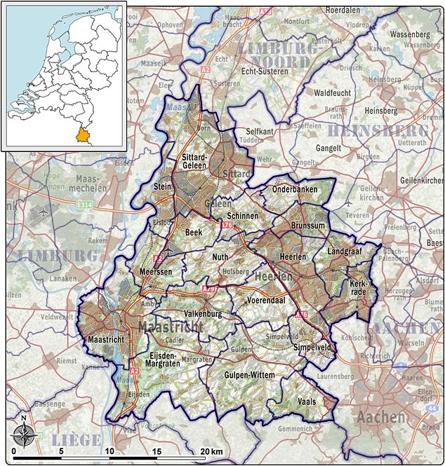 Zuid Limburg Nederland Wikipedia