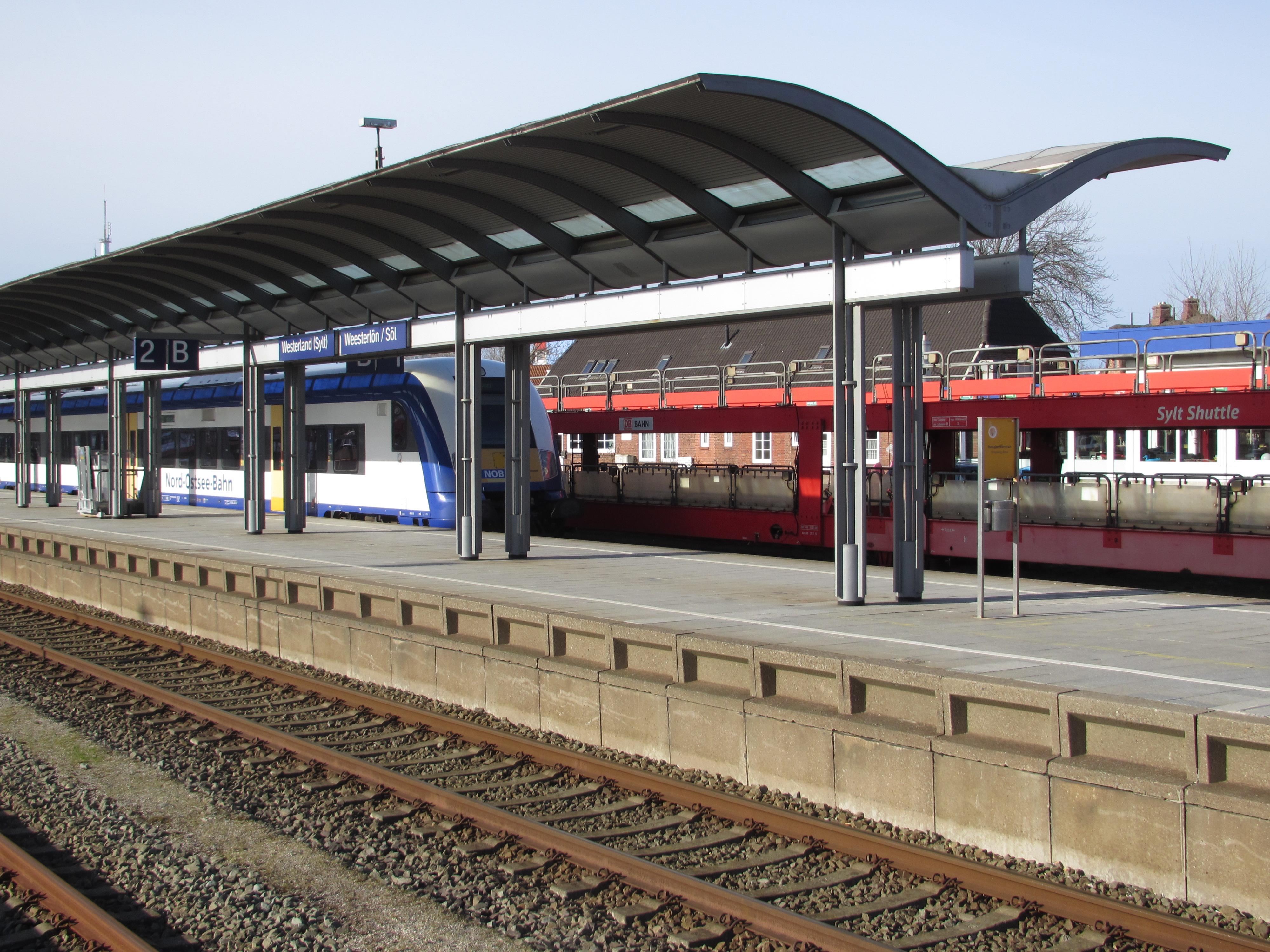 Charming File:20150322 Xl 3509 Sylt Westerland Bahnhof Zug Der Nord