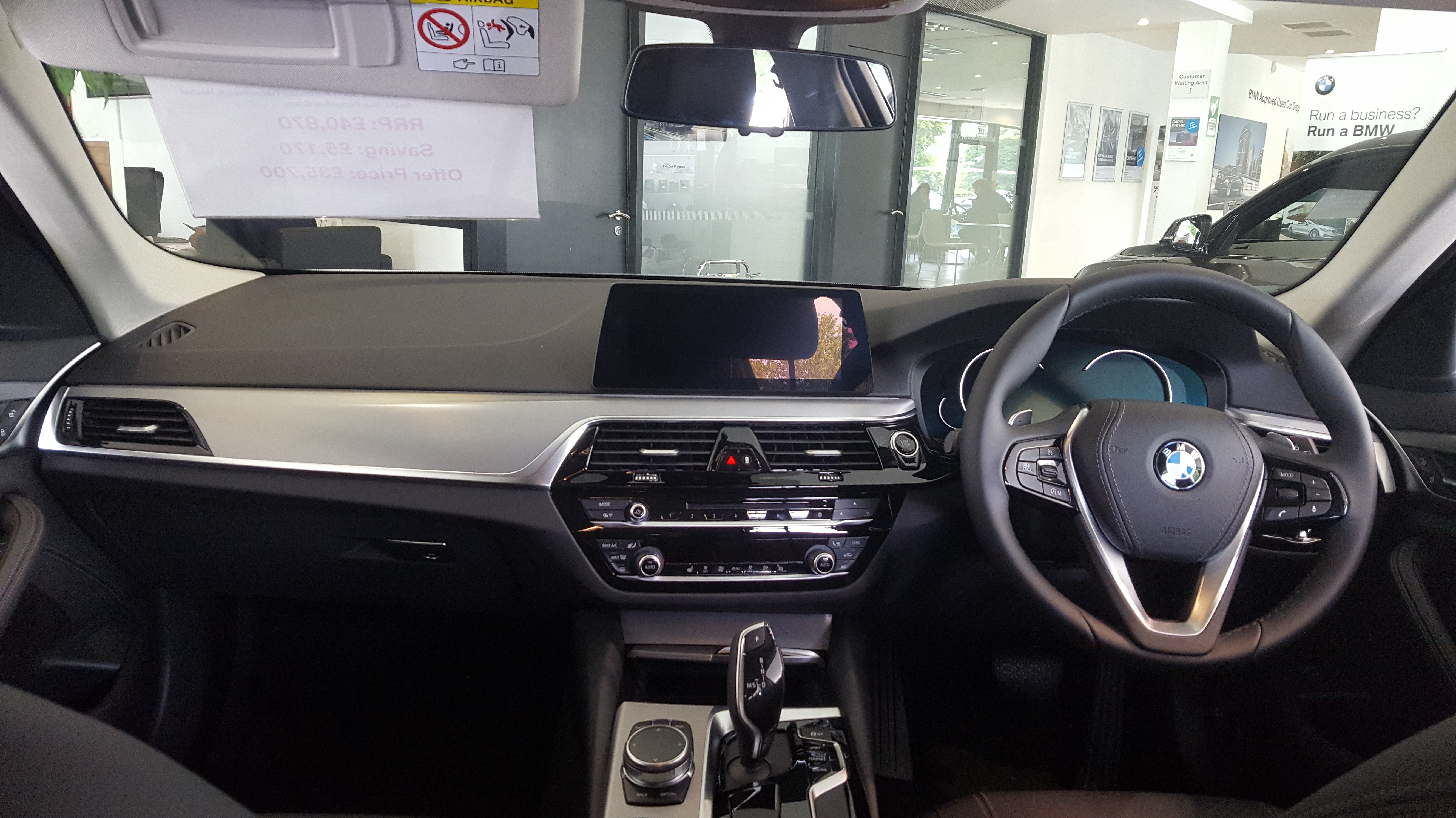 File 2018 Bmw 520d Se Touring Automatic Interior Jpg Wikimedia Commons