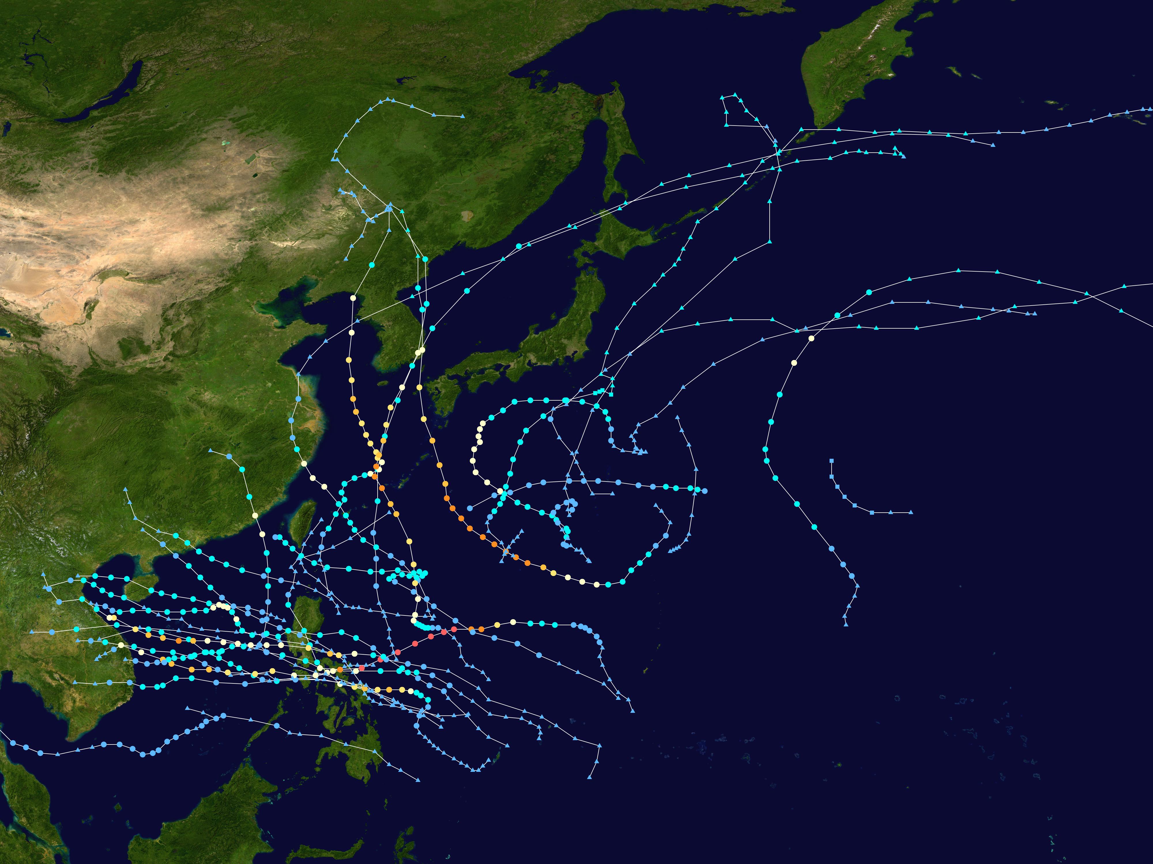 2020 Pacific Typhoon Season Wikipedia