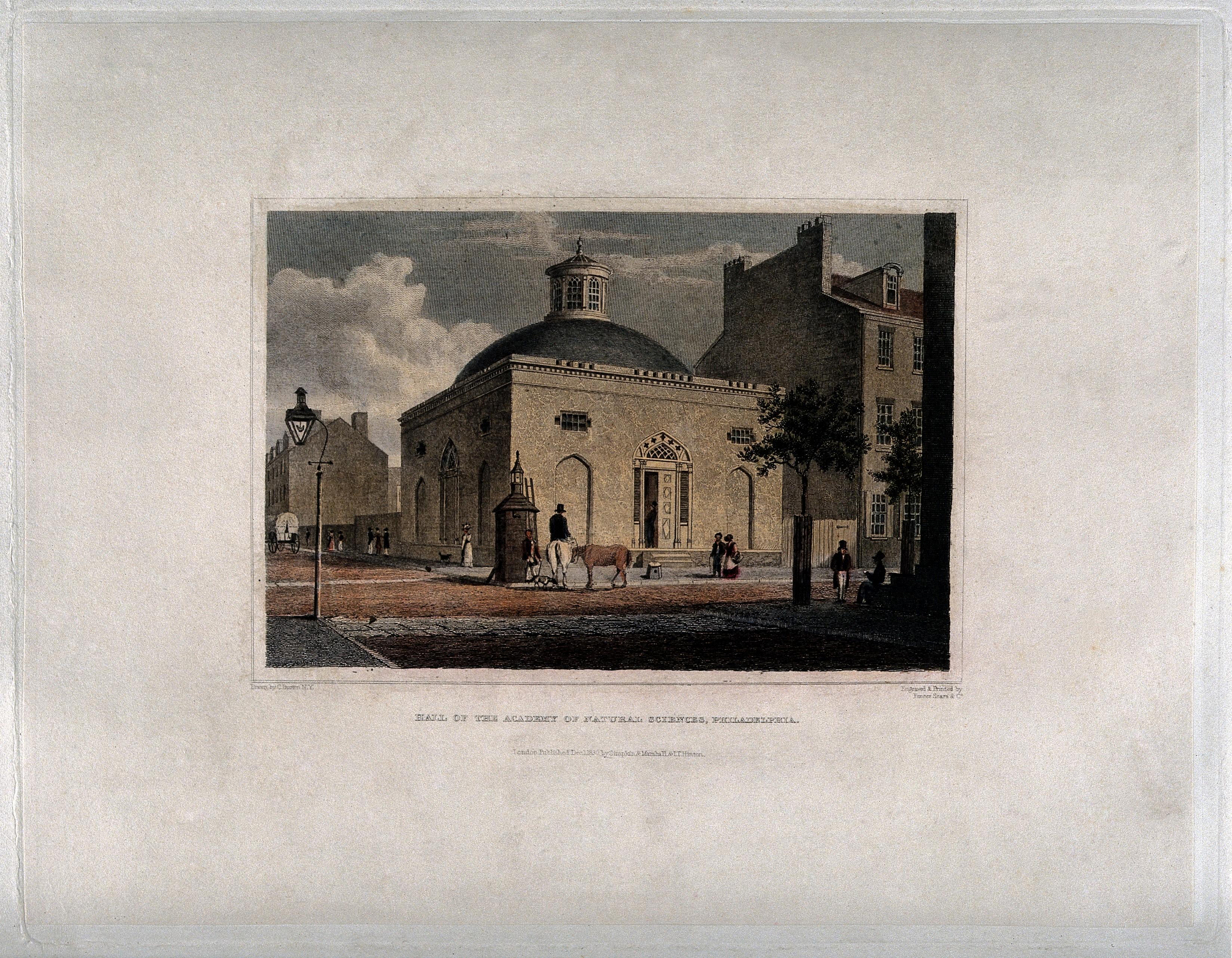 Academy Of Natural Sciences Philadelphia History