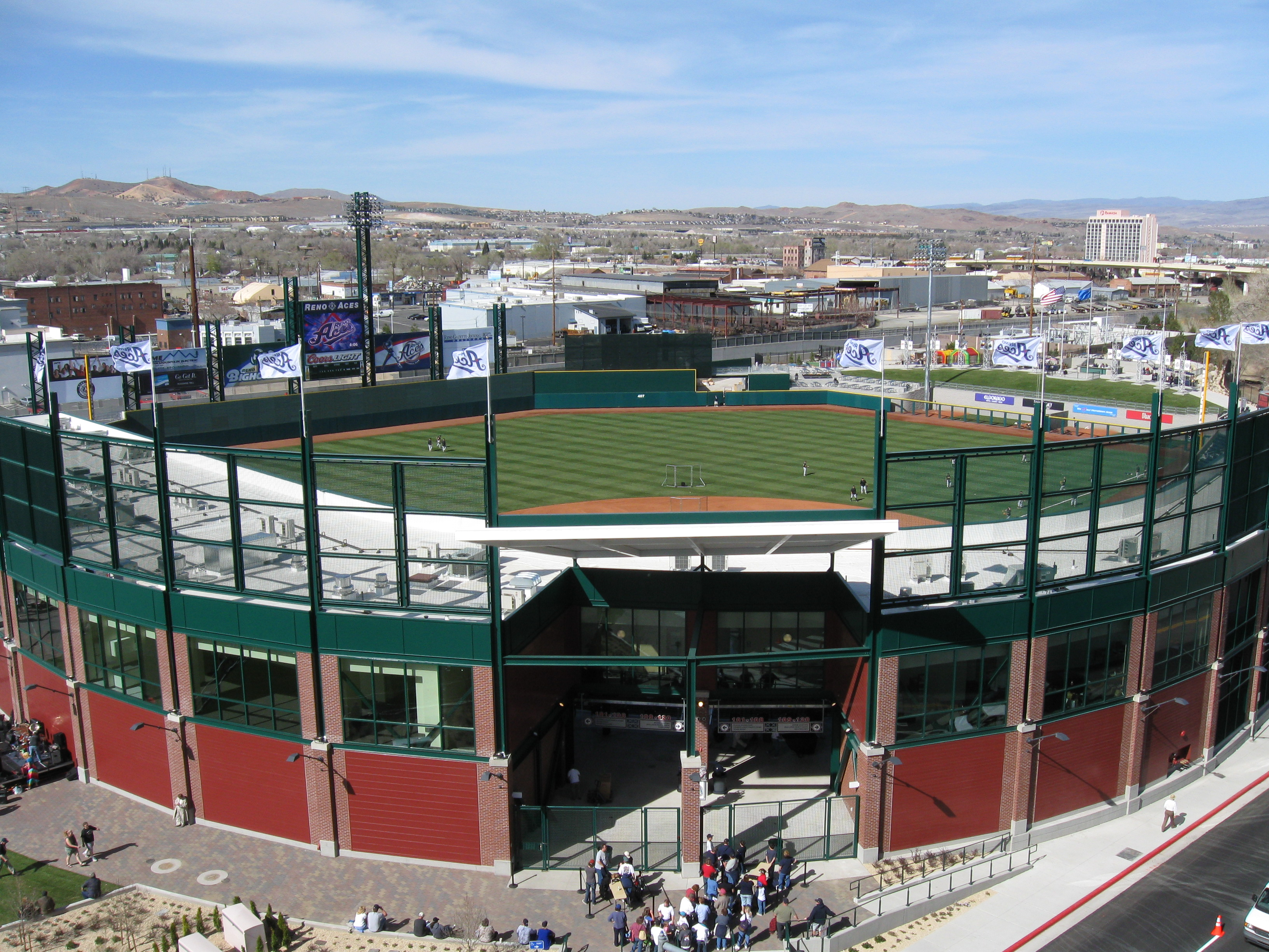 Greater Nevada Field Team Reno Aces 250 Evans Avenue Reno Nv Location Hours And Website
