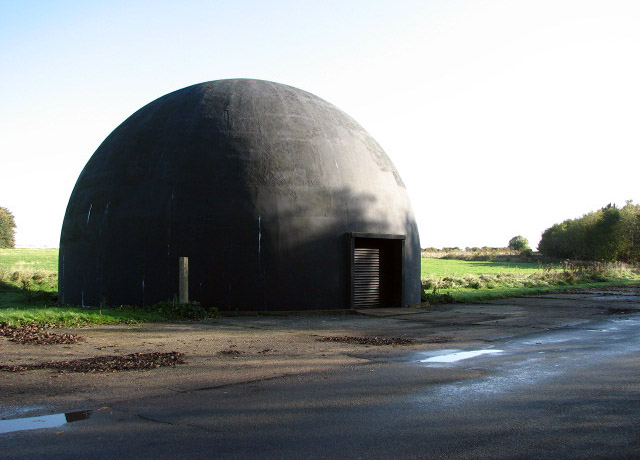 Airfield Dome Trainer at Langham - geograph.org.uk - 1024546