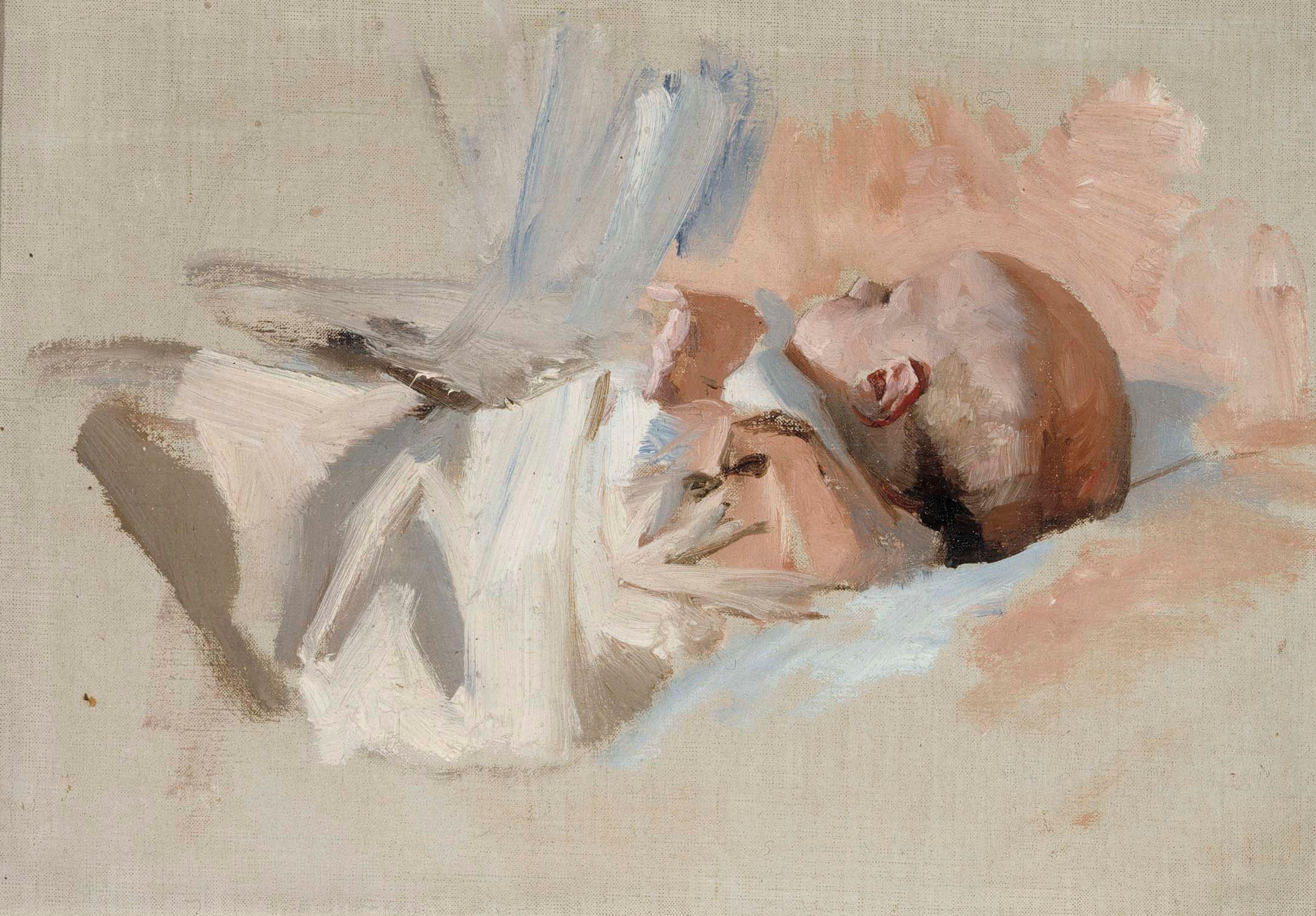 seurasaari joulu 2018 File:Albert Edelfelt   Makaava lapsi, luonnos maalaukseen  seurasaari joulu 2018