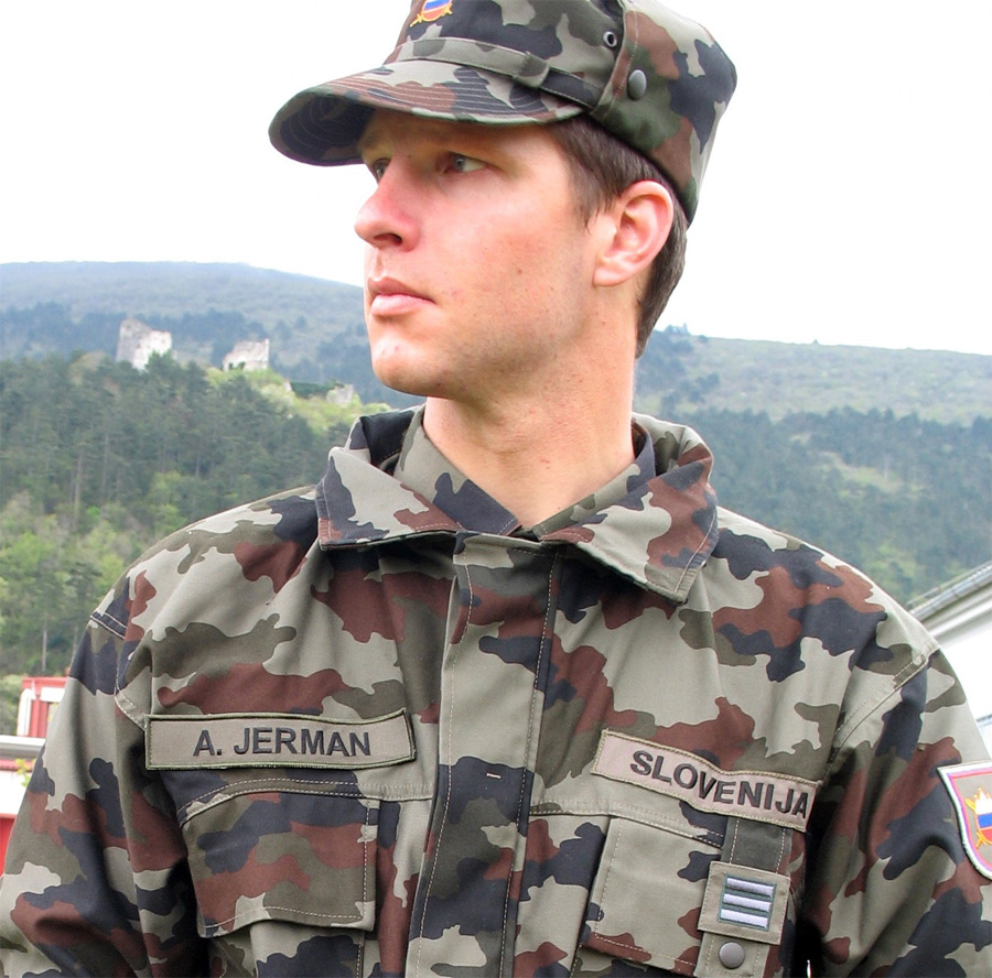 file andrej jerman in military uniform jpg wikimedia commons