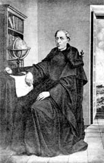 P. Andrés de Urdaneta. Fotografía de una pintura original de Víctor Villán