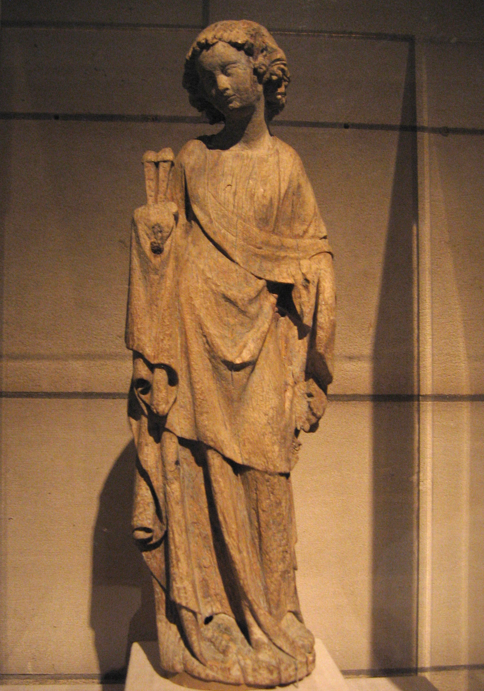 Angel Holding the Holy Nails, formerly one of a series of