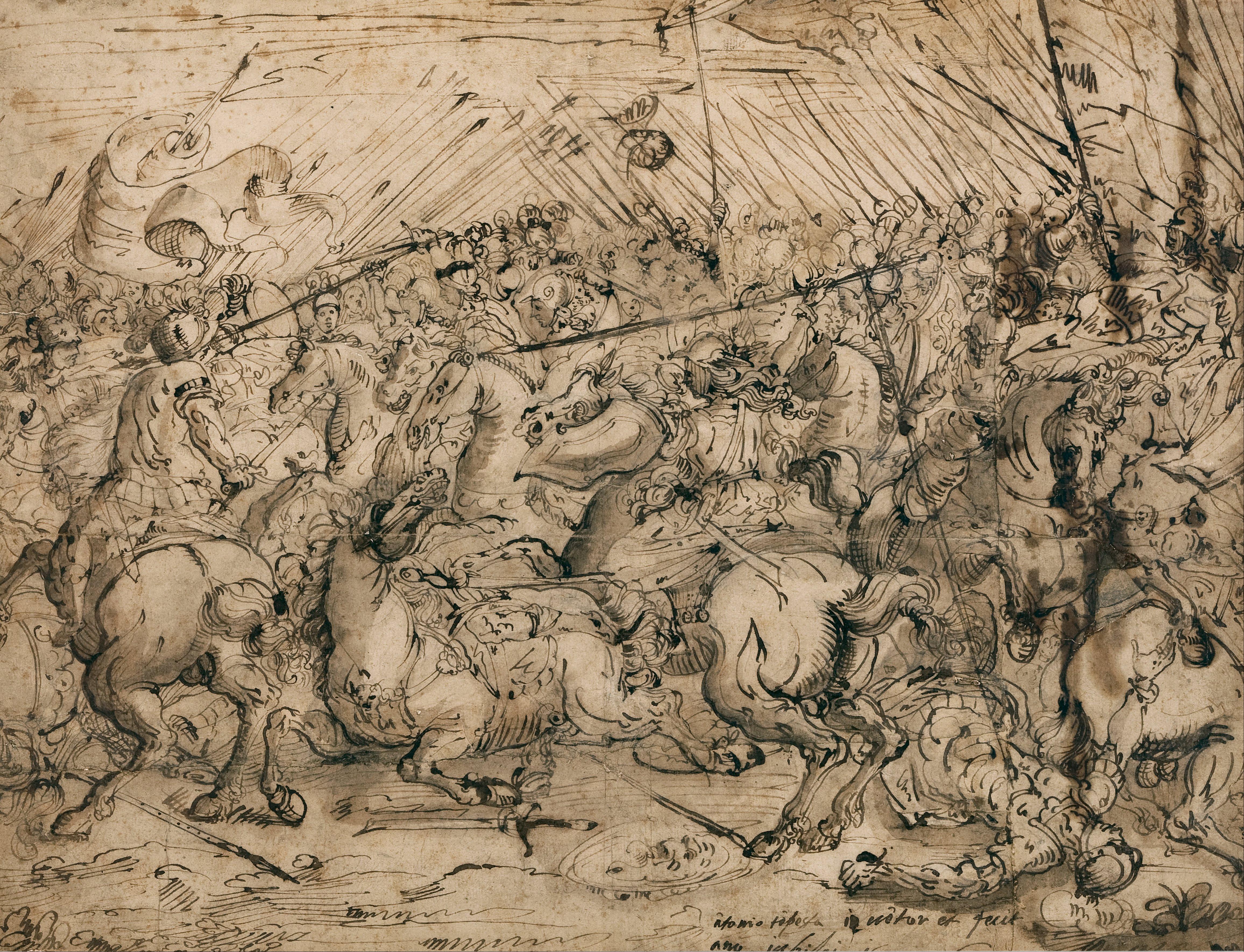 File Antonio Tempesta Battle Scene Google Art Project