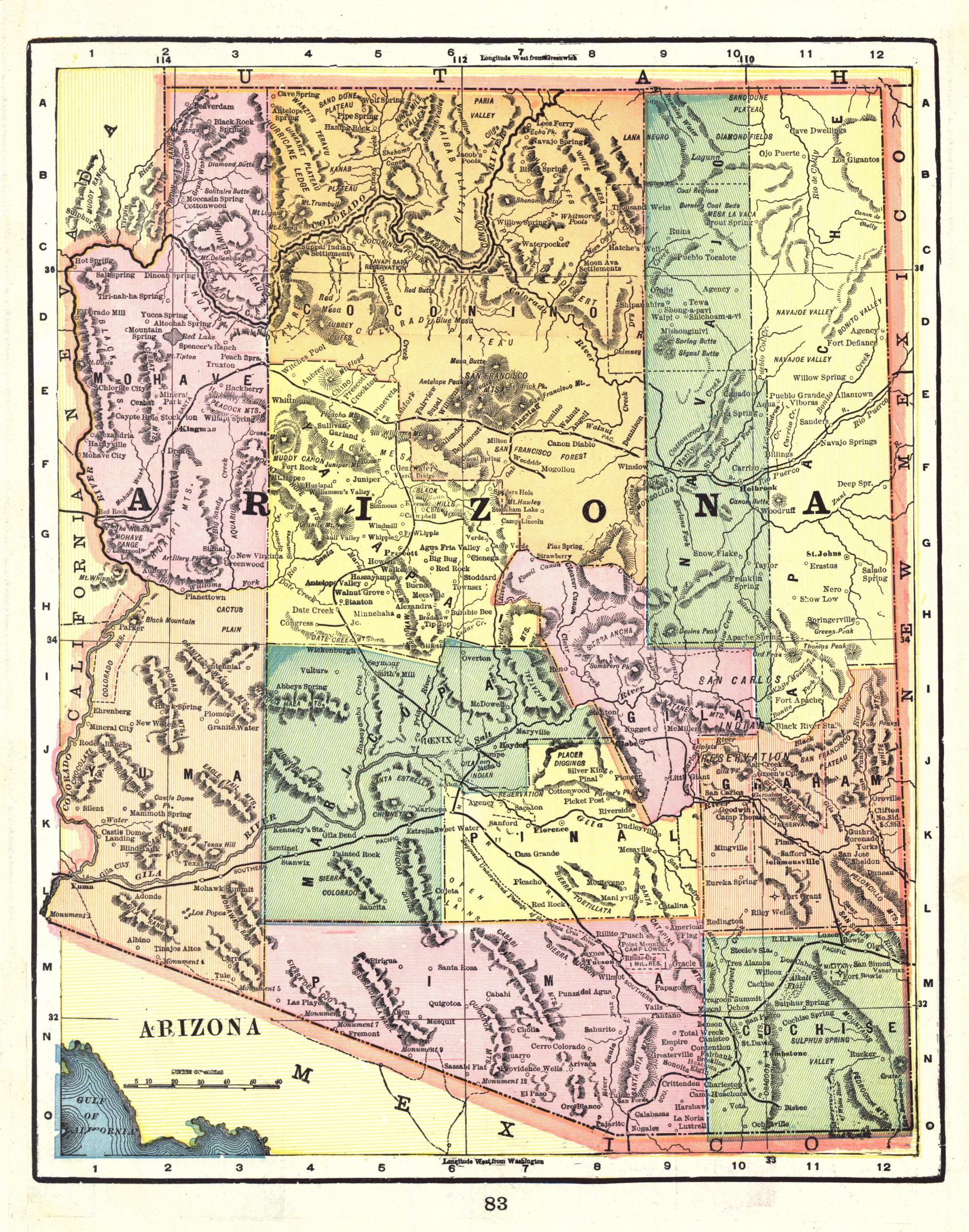File:Arizona Territory Map, 1898, 2.jpg - Wikimedia Commons
