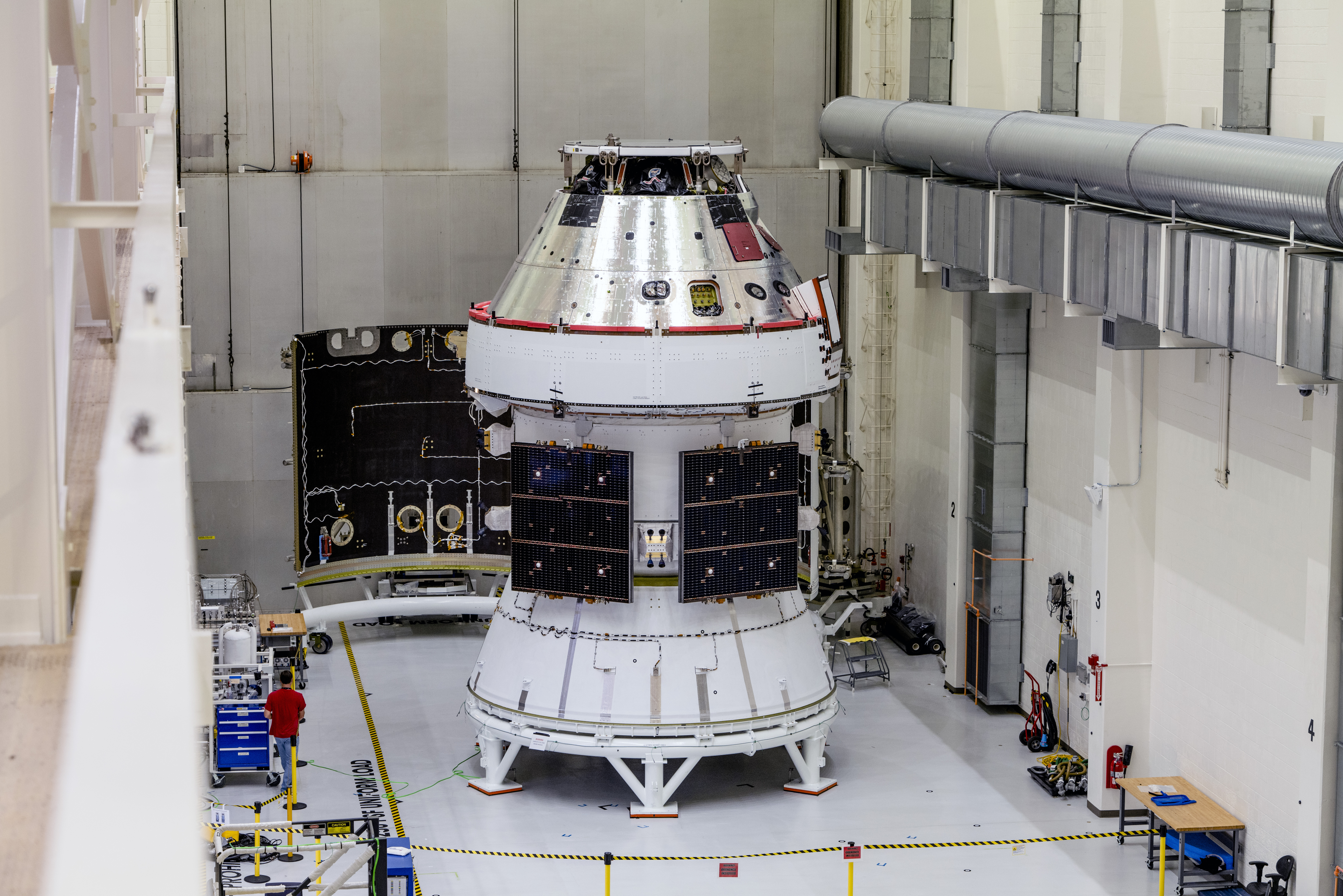 NASA's Orion spacecraft at Kennedy Space Center