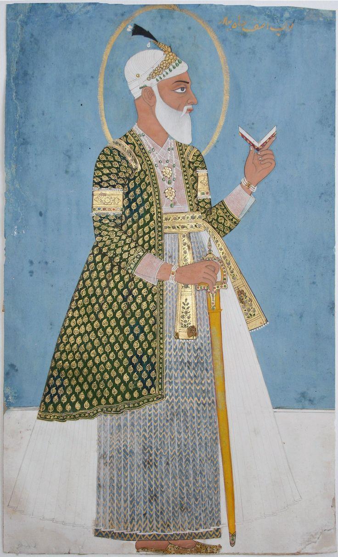 eighteenth century political formations Nizam-ul-Mulk Asaf Jah