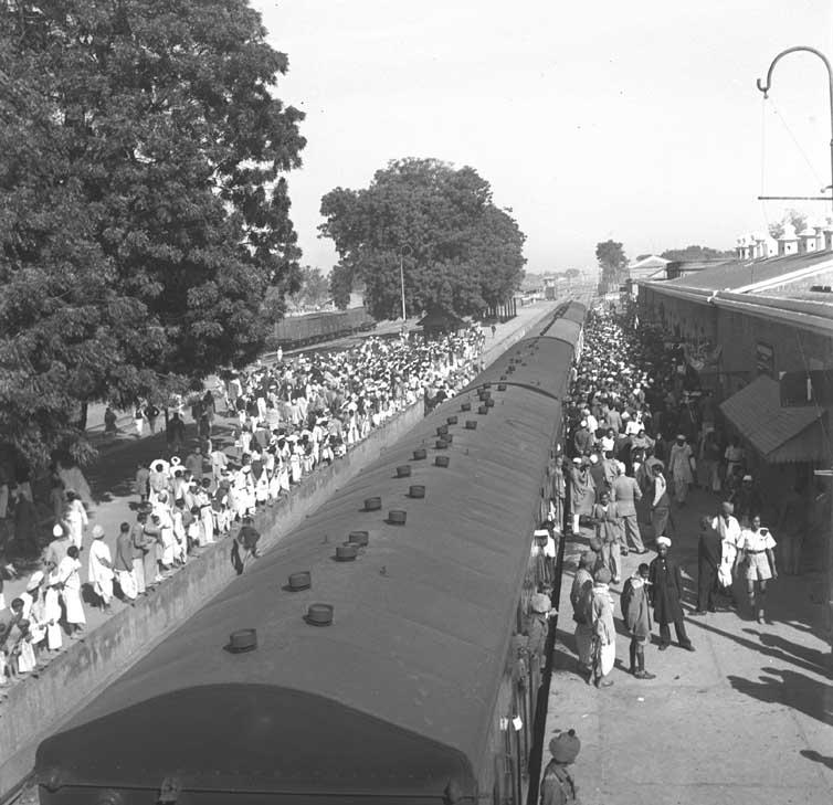 Gandhi Asthi Special Train