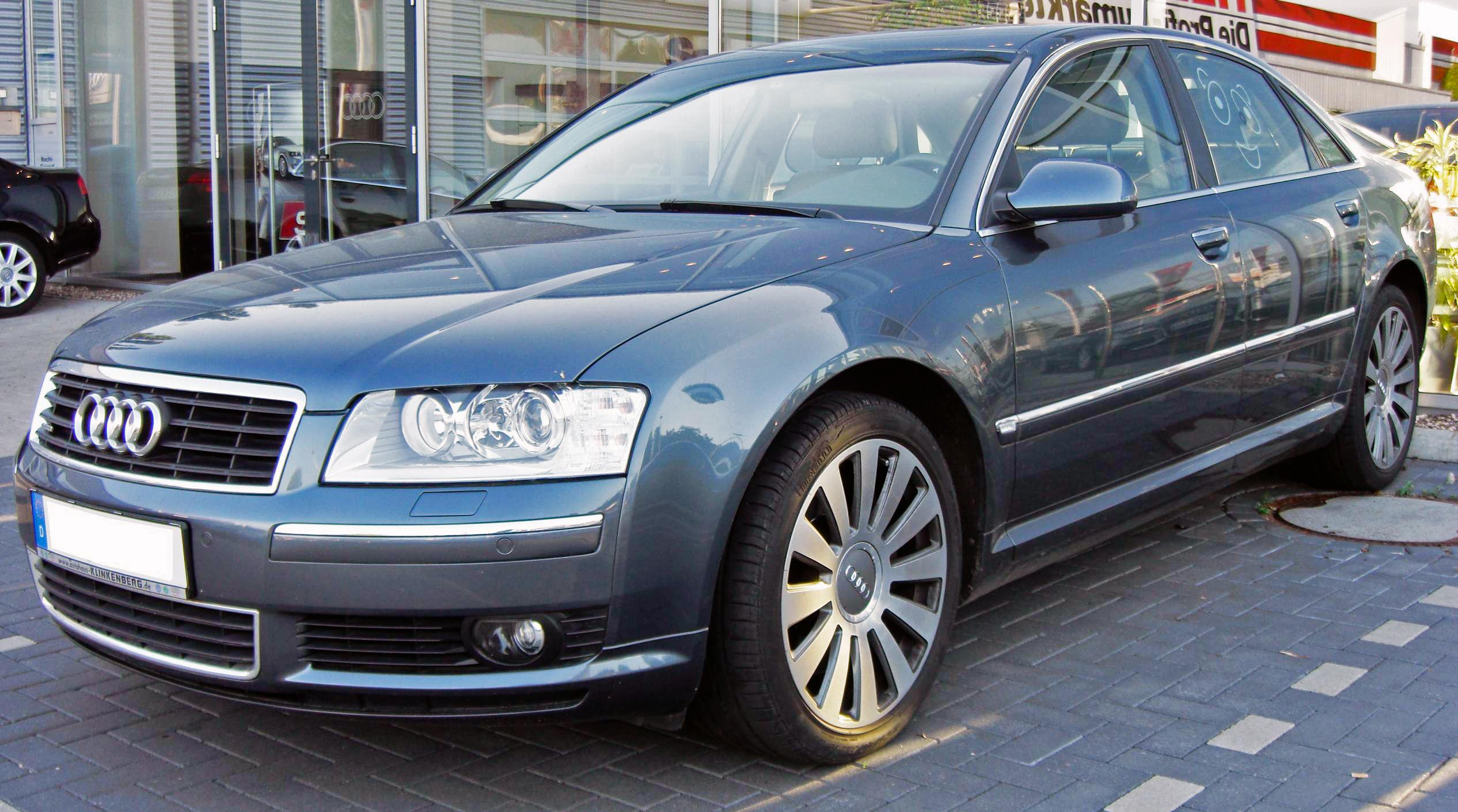 File:Audi A8 (2003-2005) 4.2 front.jpg - Wikimedia Commons