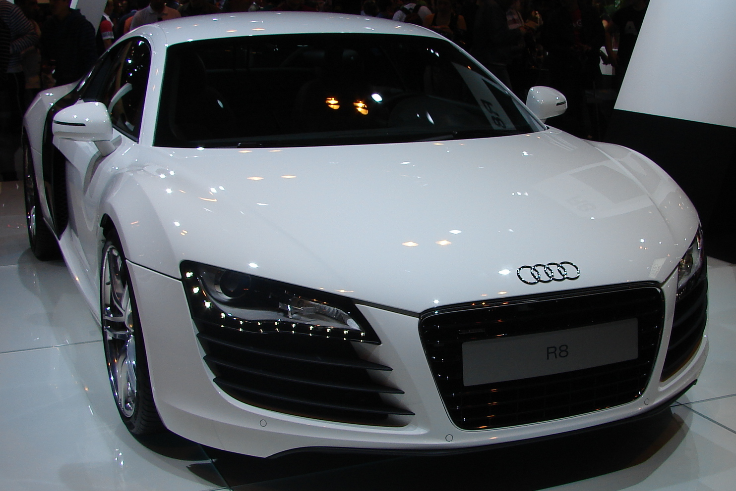 File Audi R8 Blanco Jpg Wikimedia Commons