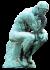 Auguste Rodin - Penseur 50px.png