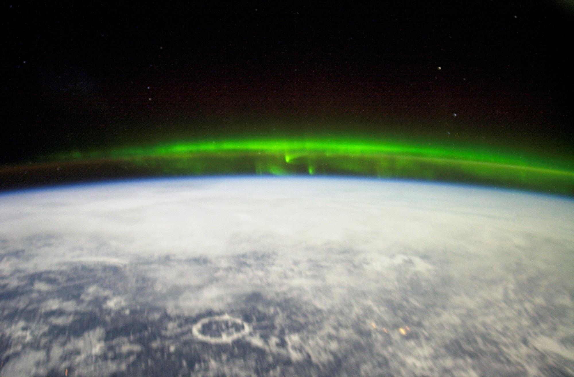 English: The Aurora Borealis or northern light...
