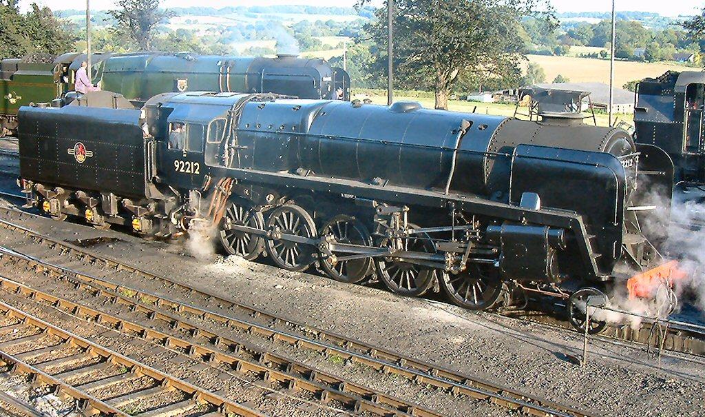 File:BR Standard 9F No 92212 at Ropley yard.jpg