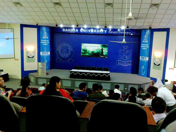 bahria auditorium