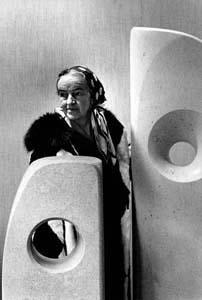 Barbara hepworth (1966) by erling mandelmann