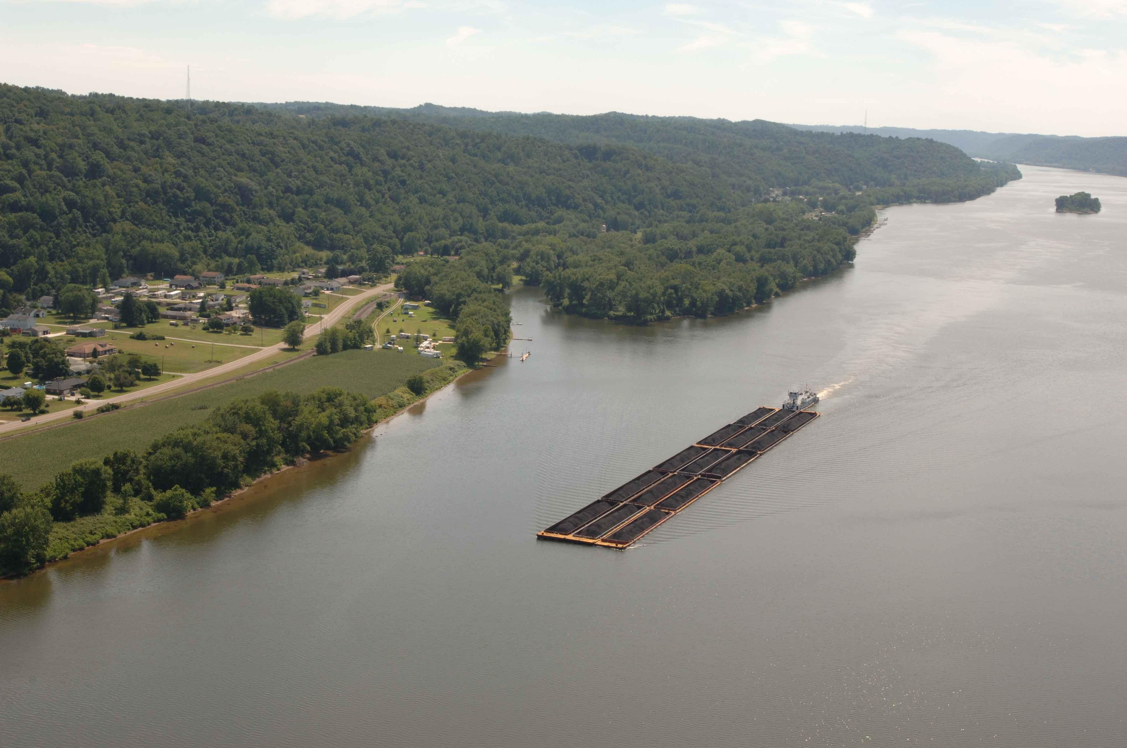 Island Ohio River
