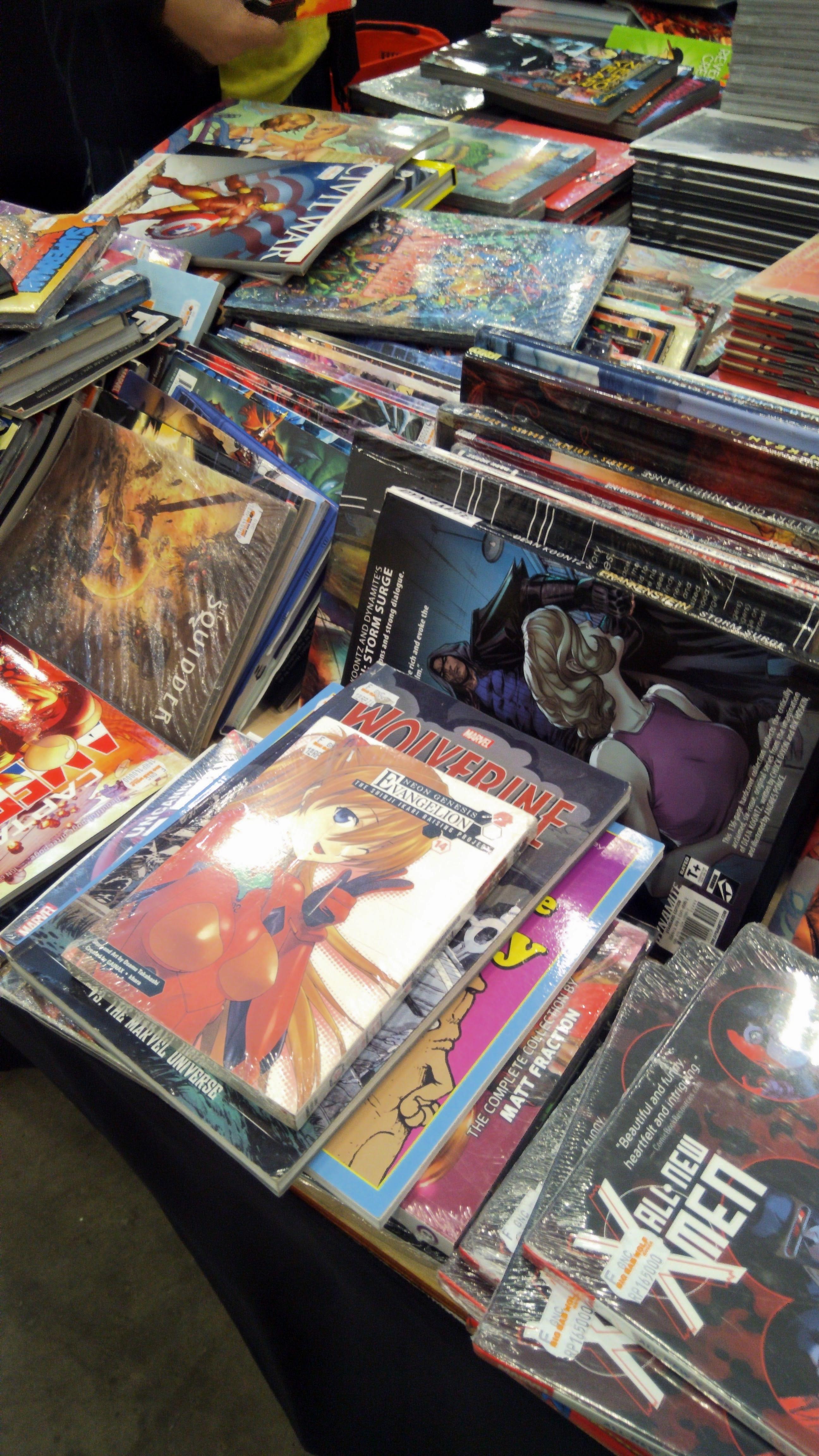 File Big Bad Wolf Books Jakarta 2019 Manga And Comic Section Jpg Wikimedia Commons
