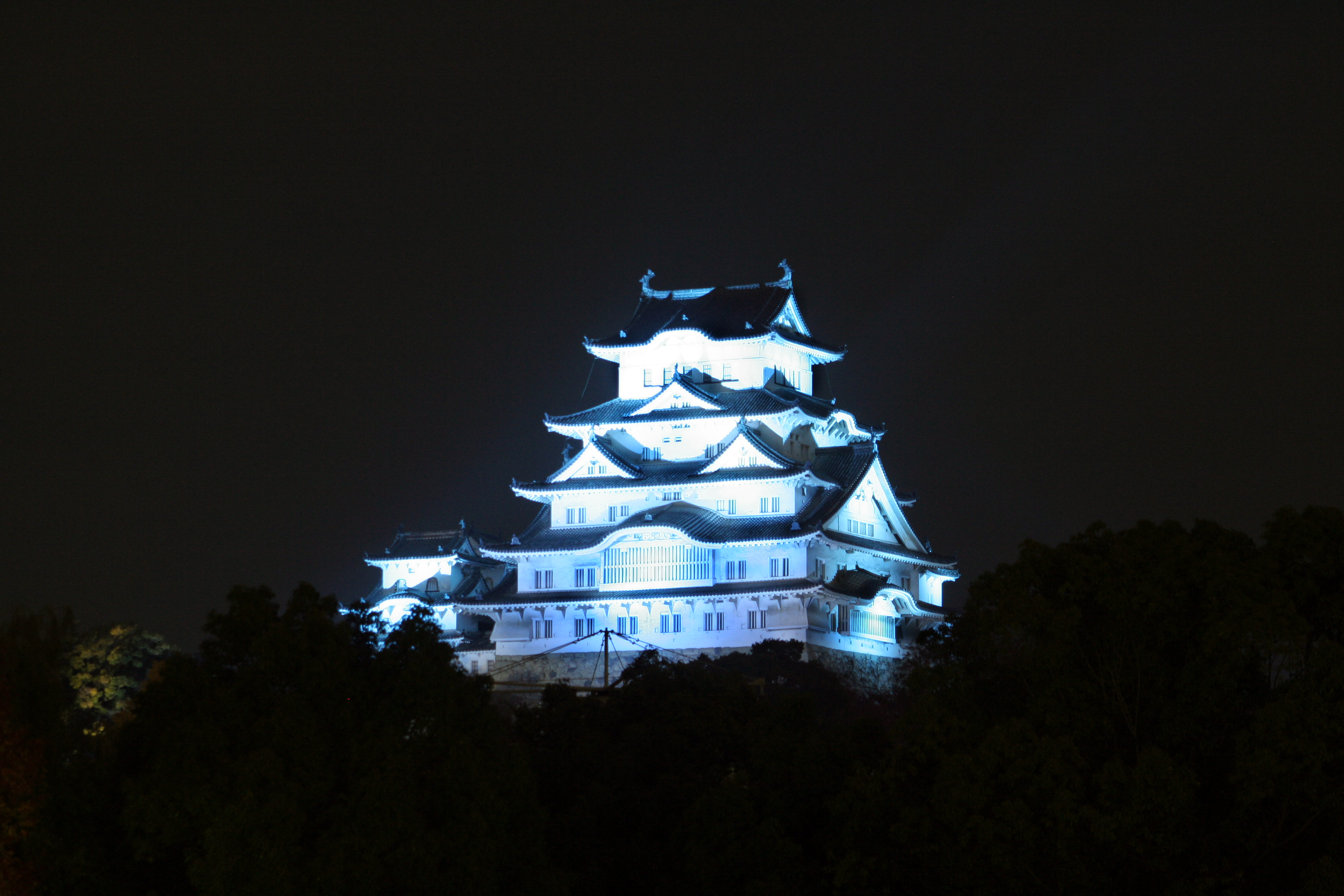 Related Keywords Amp Suggestions For Himeji Castle Night