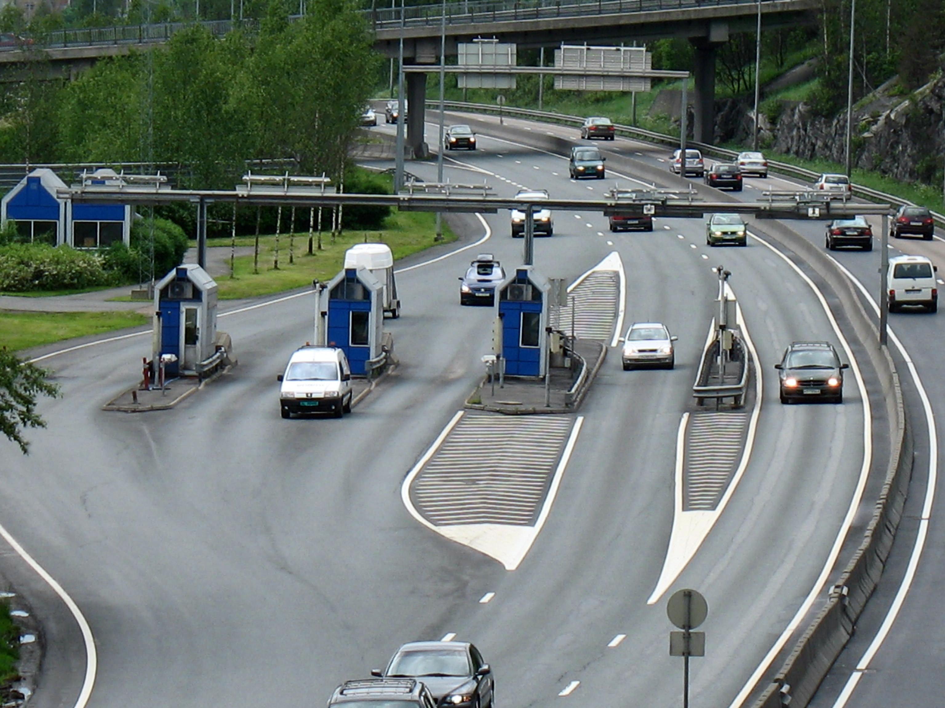 Bomstasjonene i Oslo var blå og grå frem til automatiseringen i 2008. Foto: Kjetil Ree, Wikipedia.
