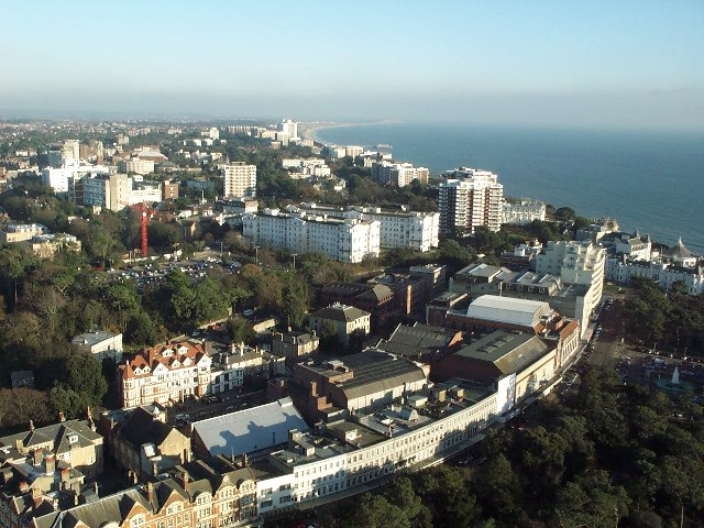 Photograph of Bournemouth Town Centre & East Cliff