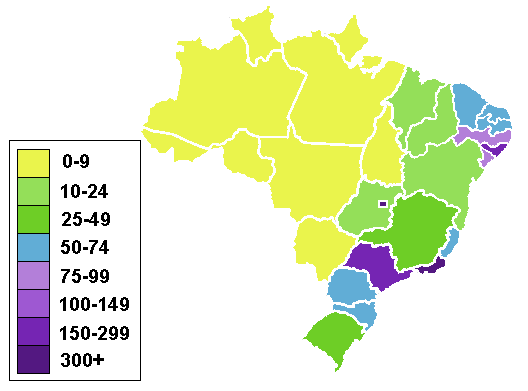 FileBrazilian States By Population DensityPNG