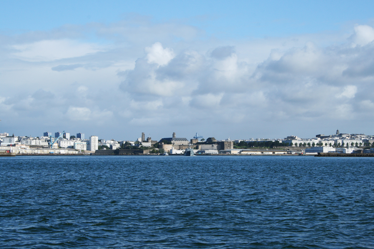 Remi Jouan: Entrée du port militaire de Brest