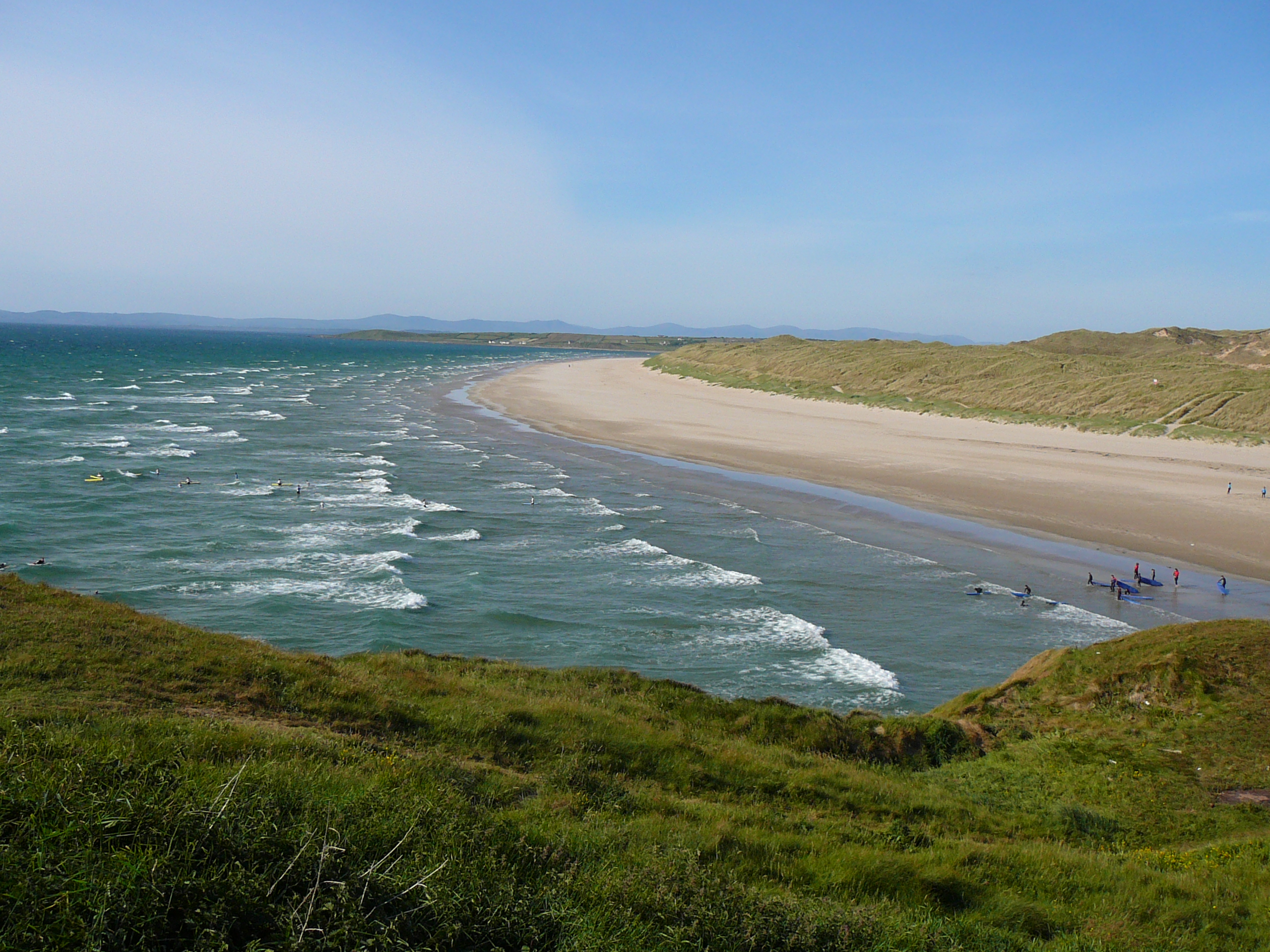 Downings Ireland  City pictures : Bundoran Strand, Co. Donegal Wikimedia Commons