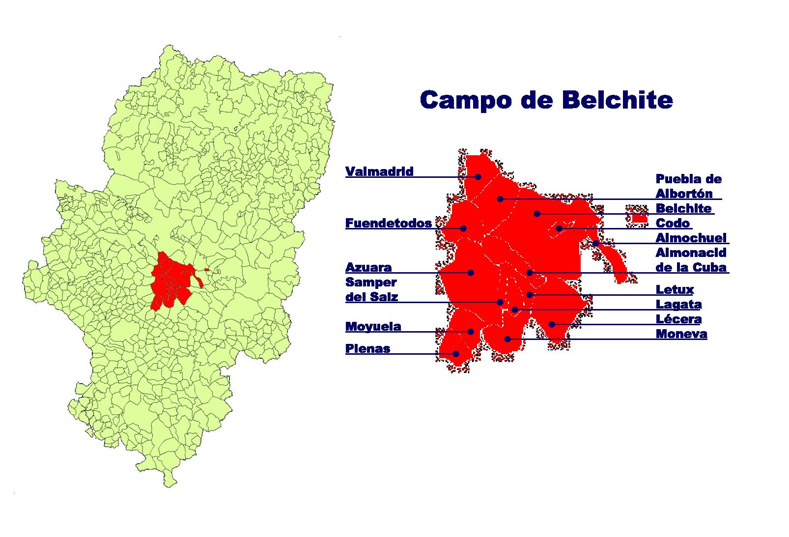 Depiction of Campo de Belchite