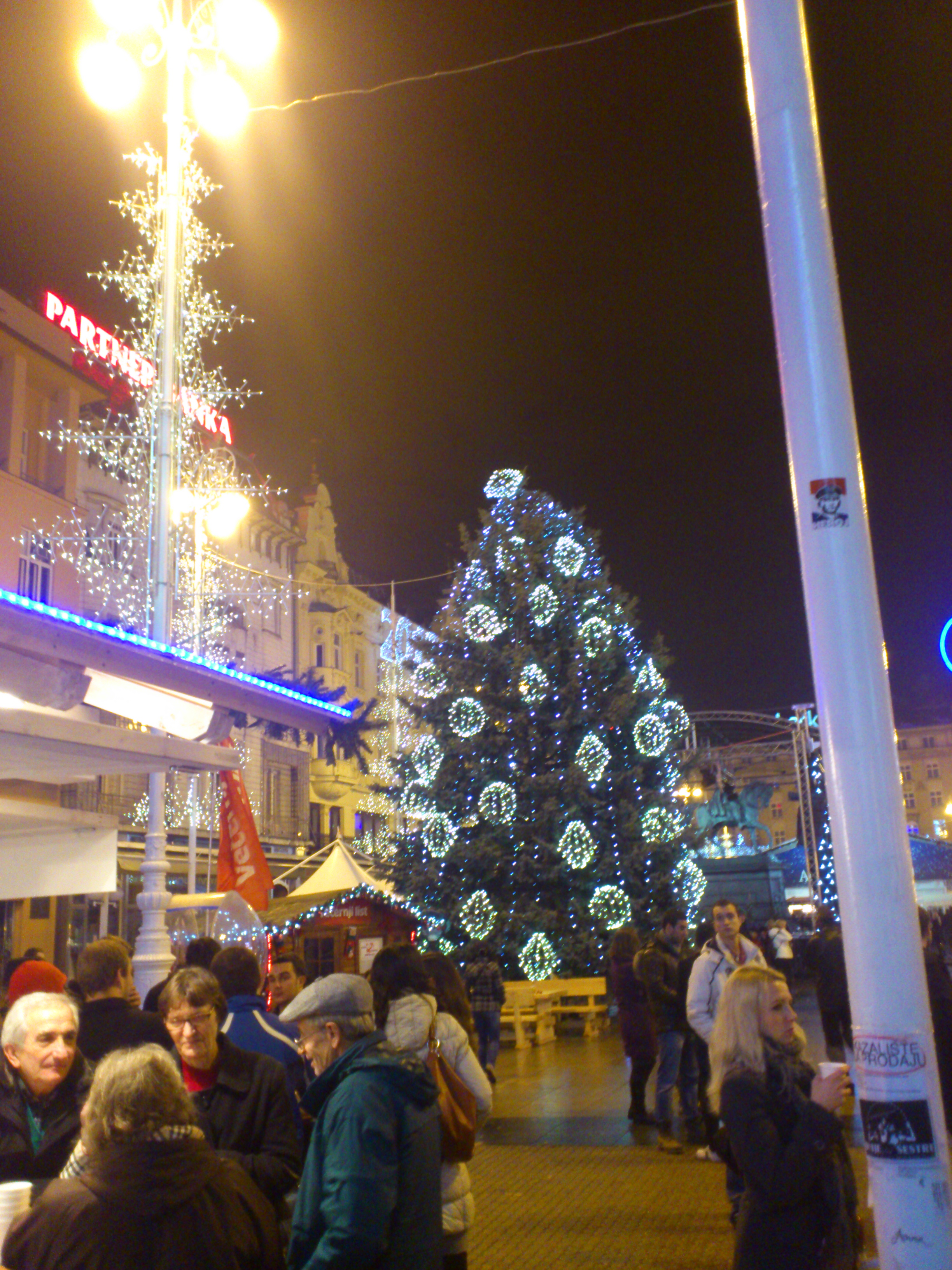 Central Christmas Tree On Ban