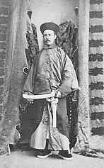Charles Gordon as a tidu (Captain General).